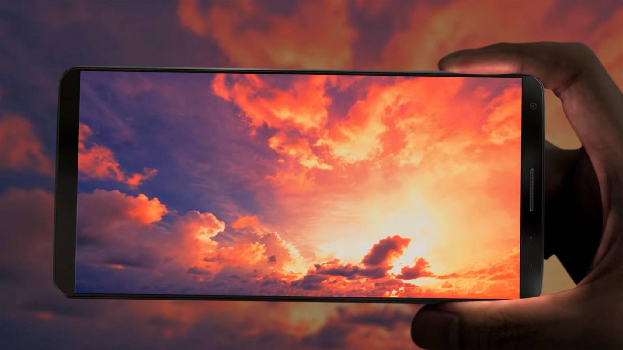 In weniger als 0,01 Sekunden soll das Galaxy S8 Gesichter erkennen.
