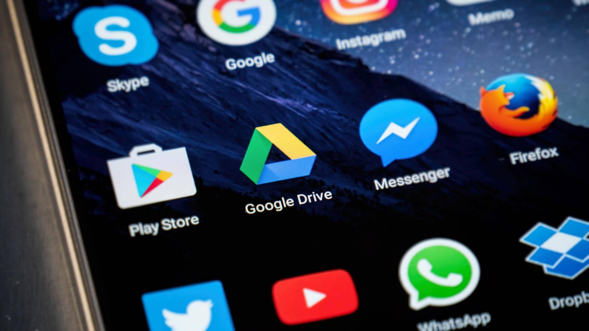 Google verabschiedet sich von Drive
