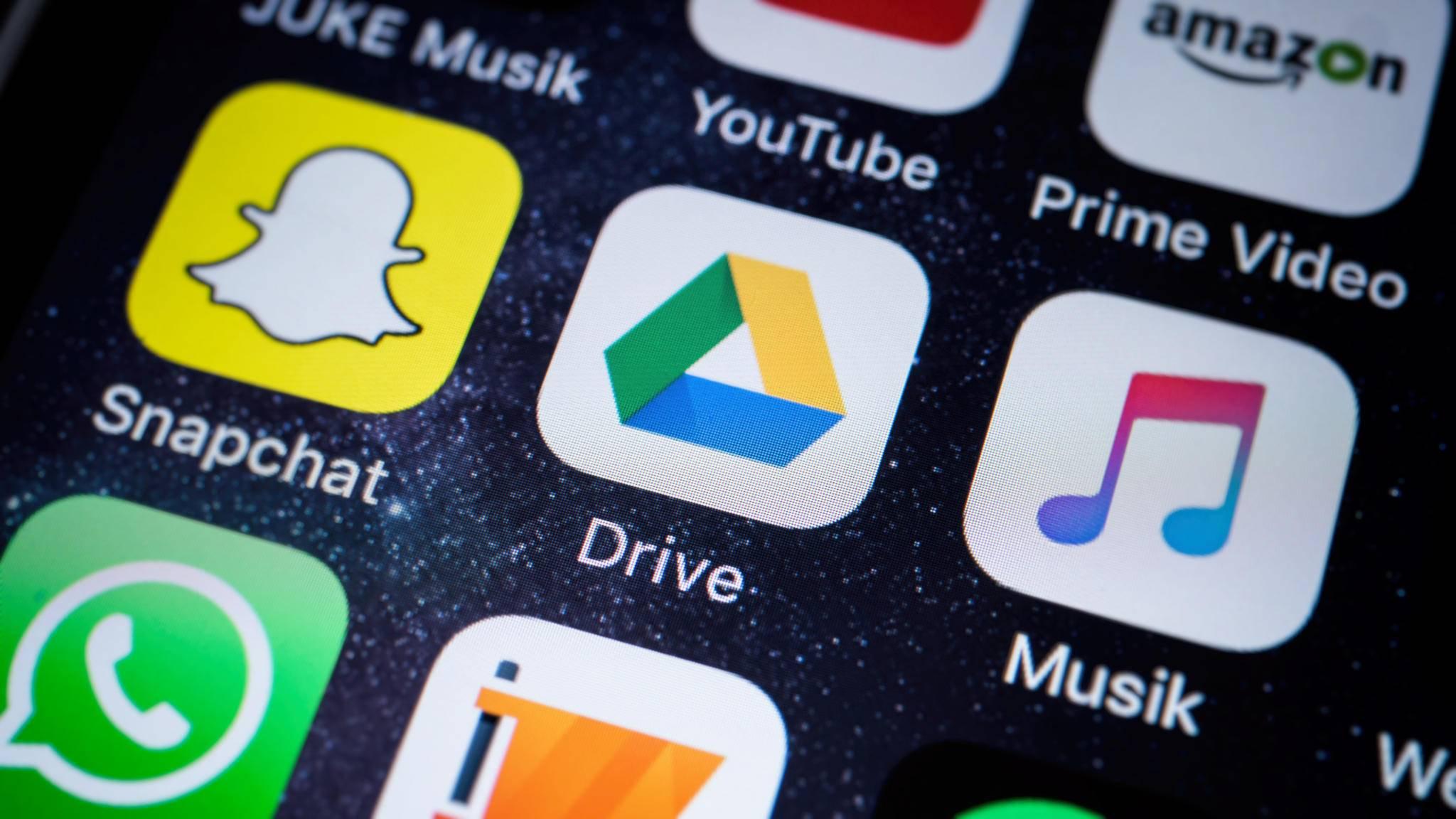 Google Drive steht auch als Mobile-App bereit.