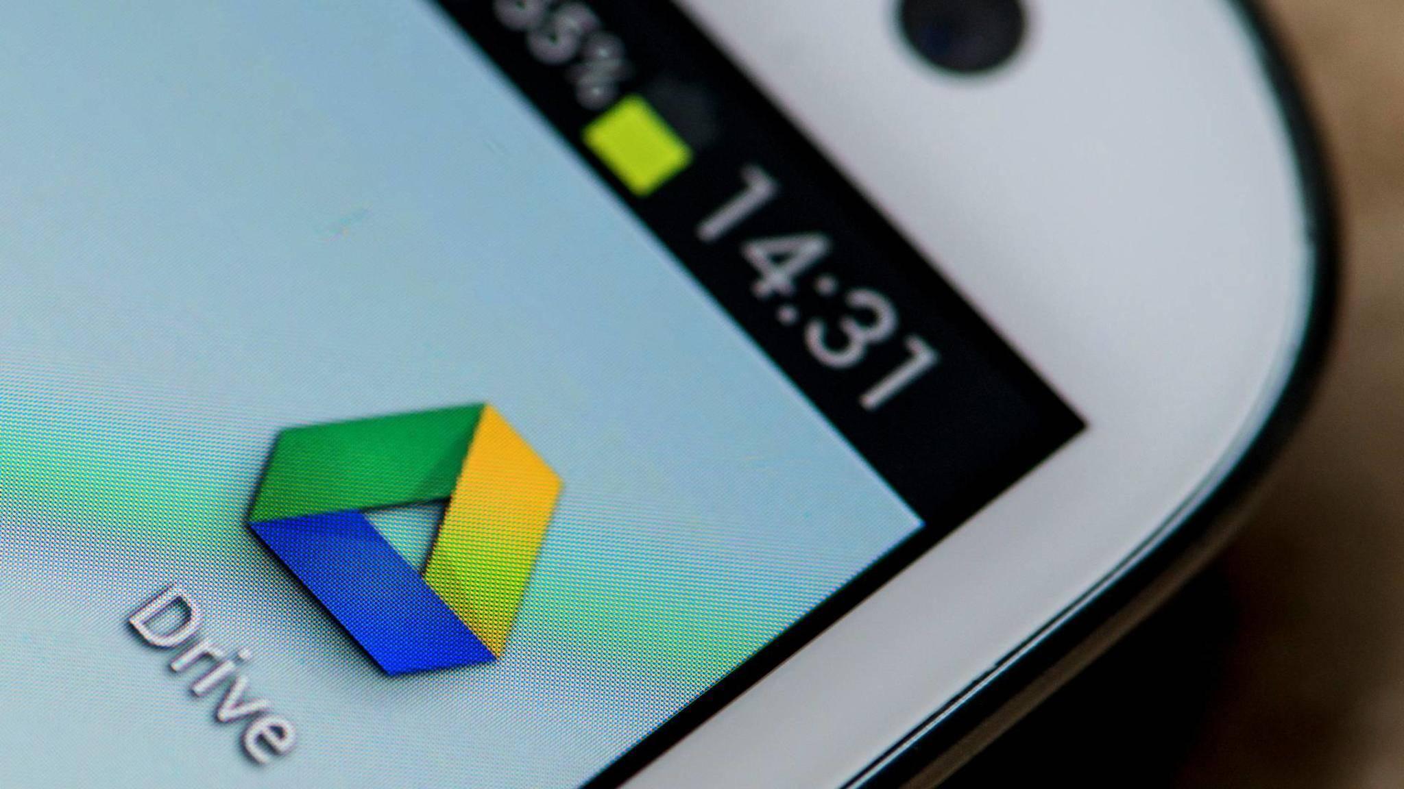 Ältere Versionen von Google Drive werden bald nicht mehr unterstützt.