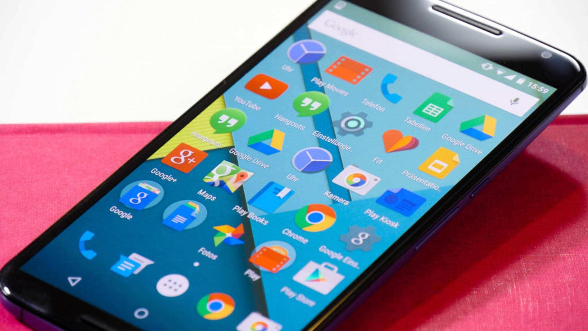 Android 7.1.1 wird für das Google Nexus 6 ausgerollt.