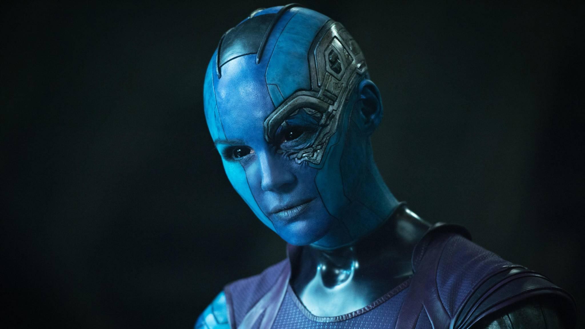 Karen Gillan mischt als Nebula die Avengers auf.