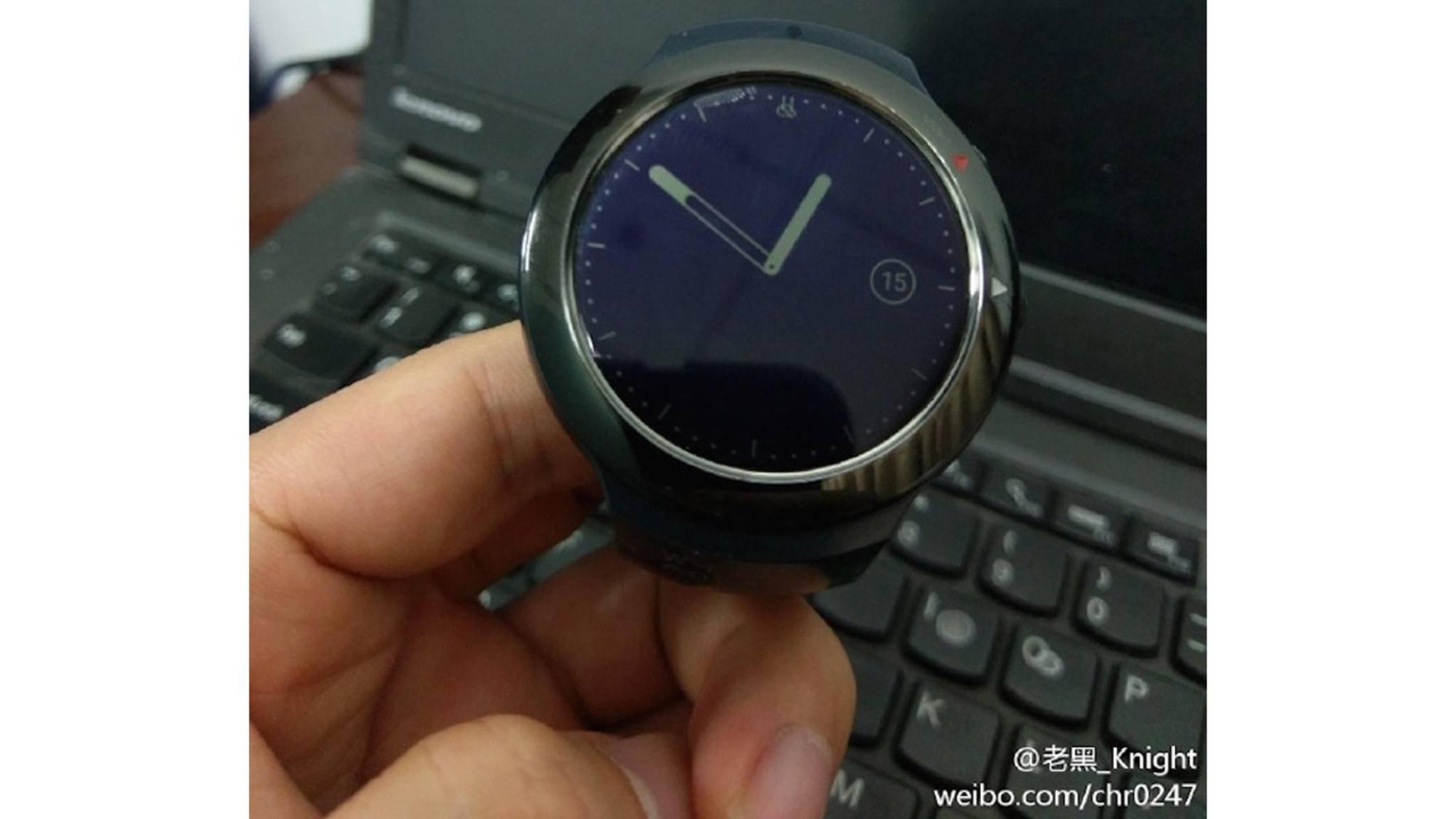 Wird aus der HTC Smartwatch doch noch etwas? Neue Leak-Bilder deuten darauf hin.