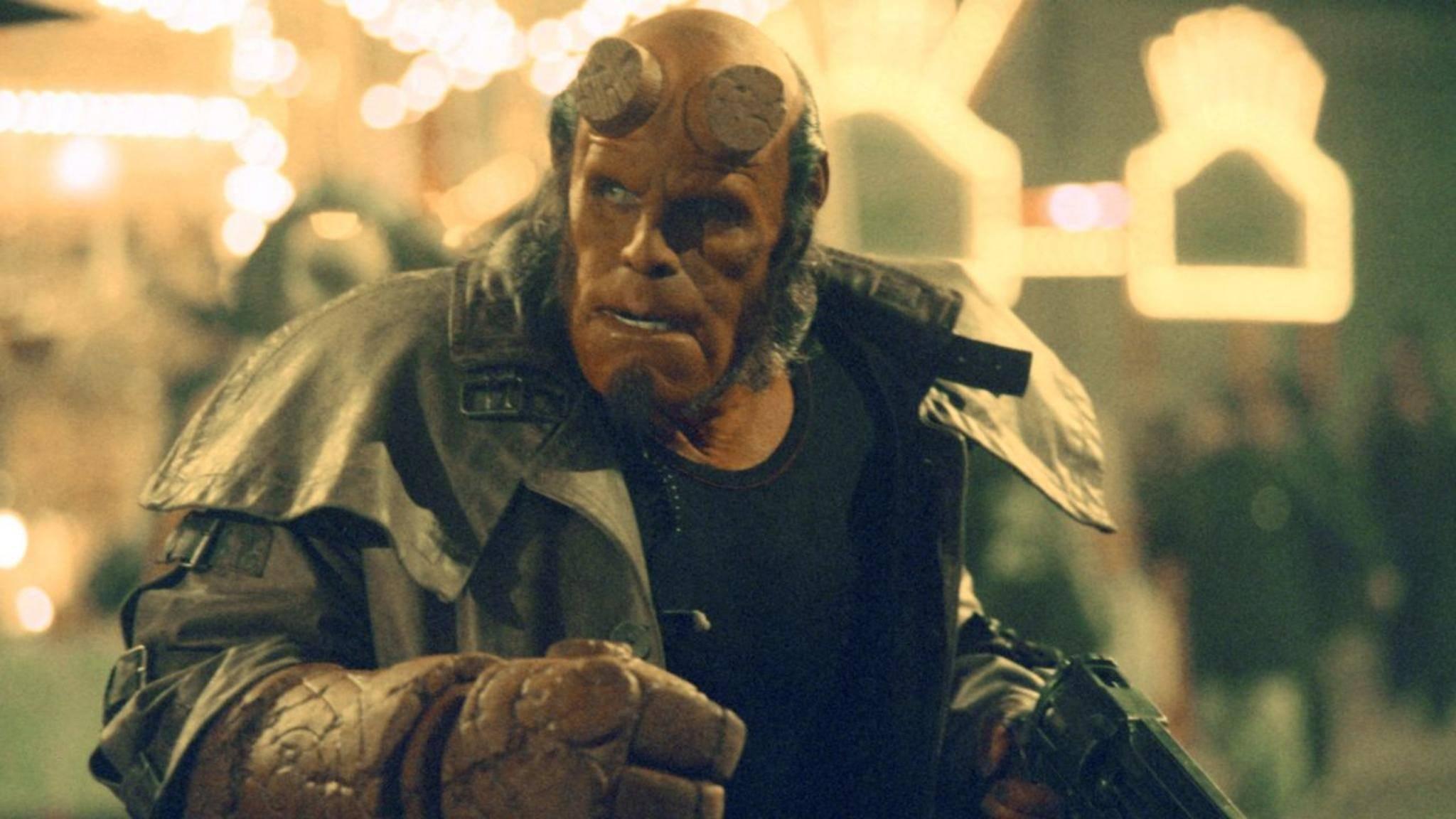 """Ron Perlman hatte 2004 seinen ersten Auftritt als """"Hellboy""""."""