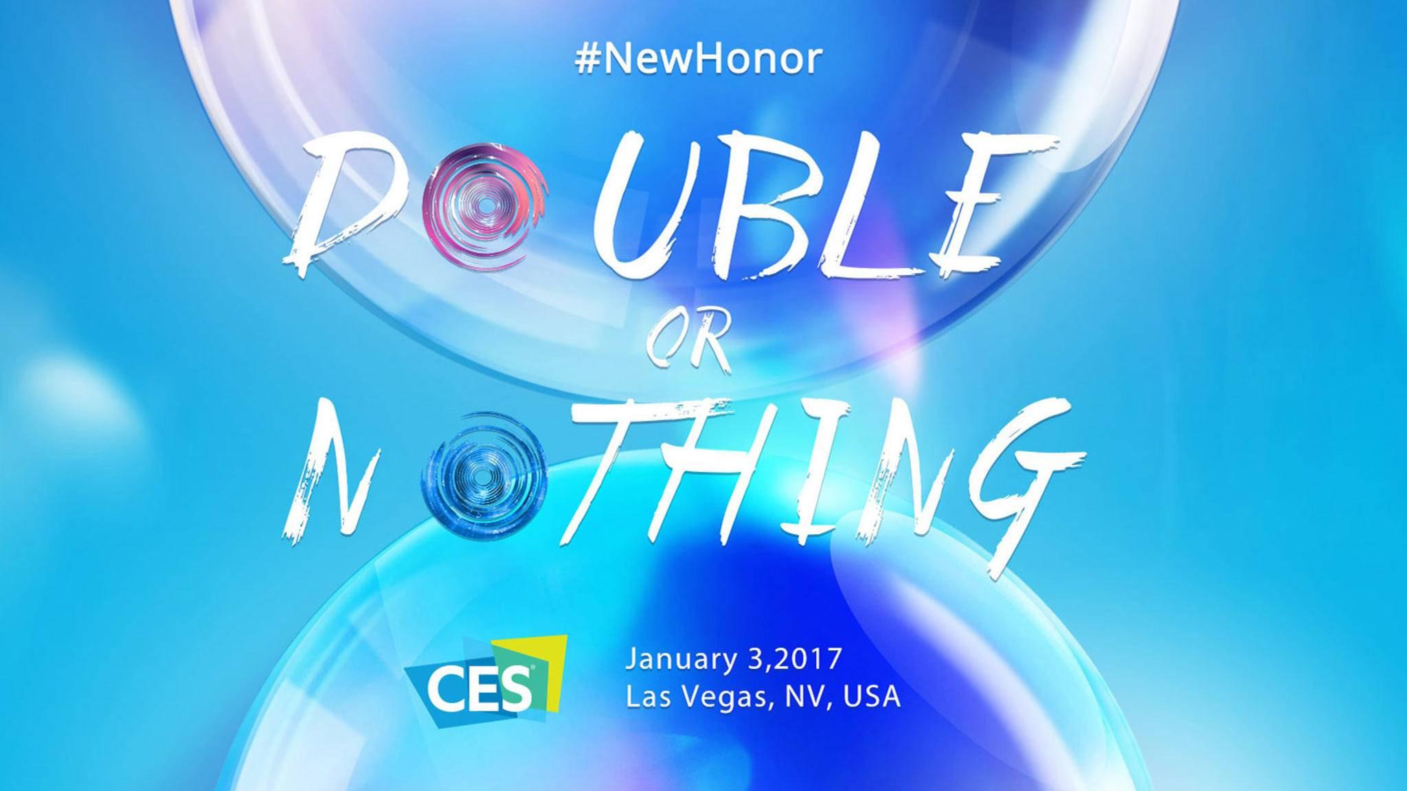 Double or nothing: Die Dual-Kamera fürs neue Honor scheint gesetzt.