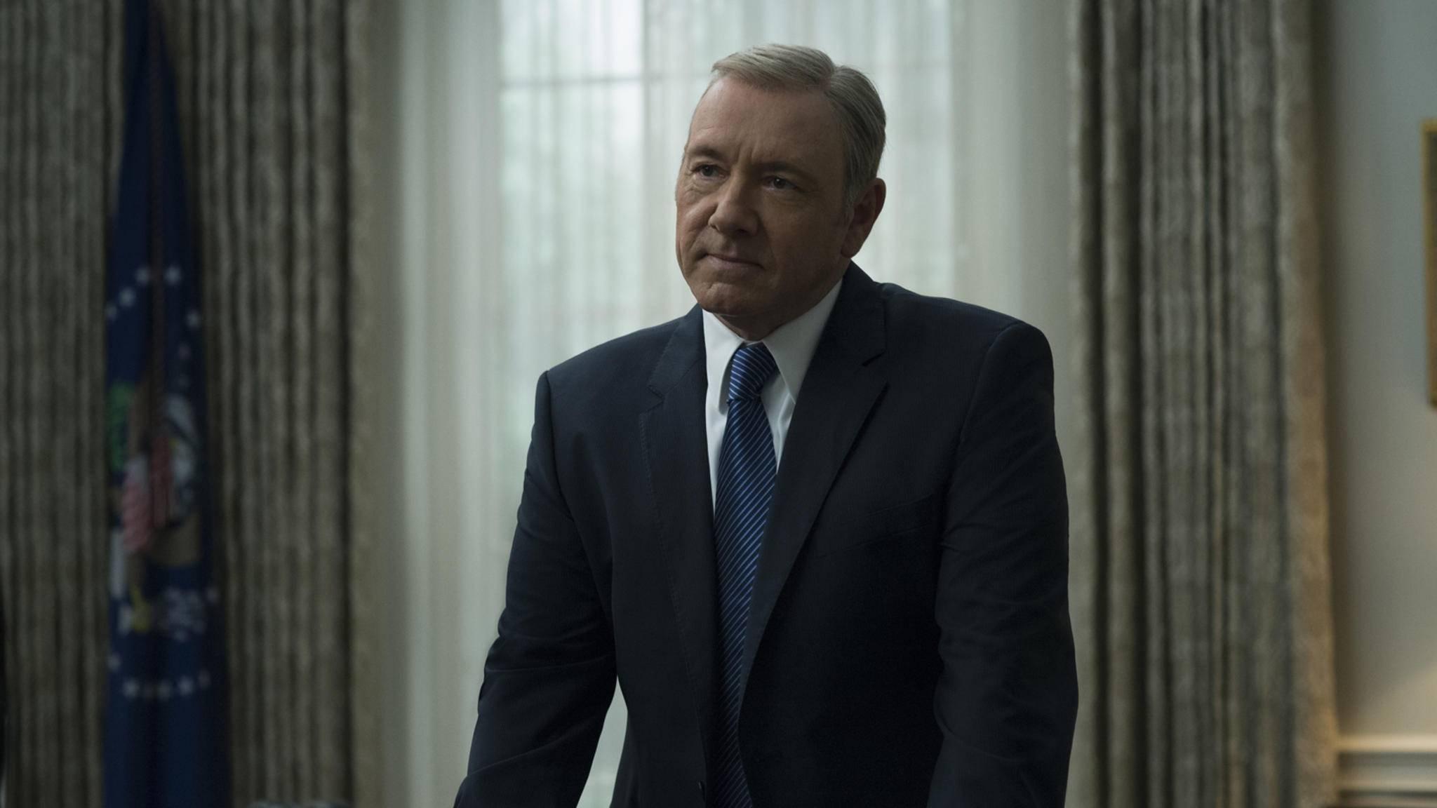 Was hat Frank Underwood in Staffel 5 vor?
