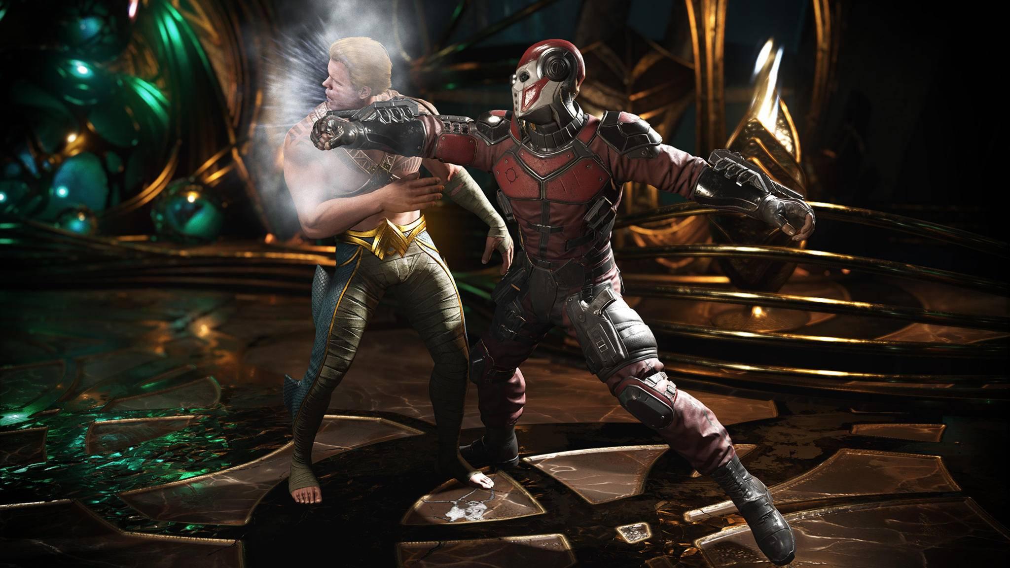"""Im Prügelspiel """"Injustice 2"""" ist ein großer Teil des DC-Universums als spielbare Charaktere vertreten."""