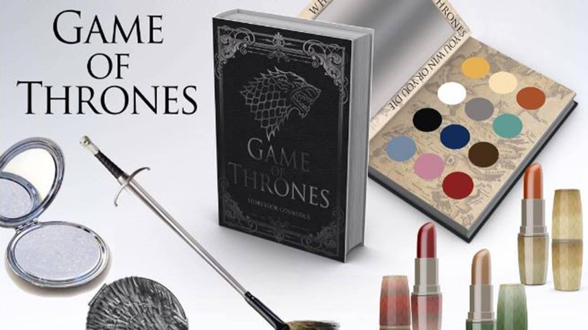 """""""Game of Thrones"""" zeigt sich mit diesem Make-up von seiner zarten Seite."""