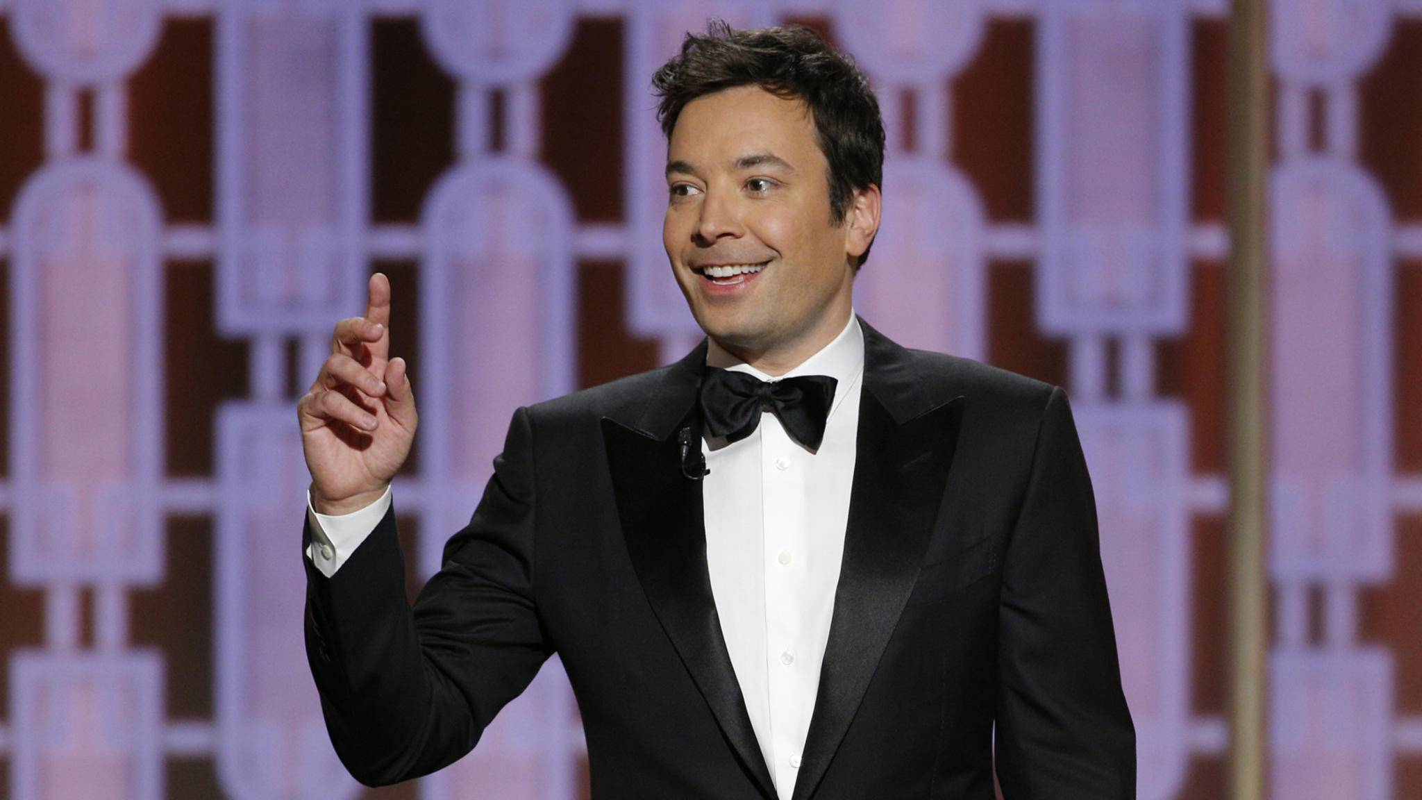 Jimmy Fallon führte durch den Abend der Golden Globes 2017.
