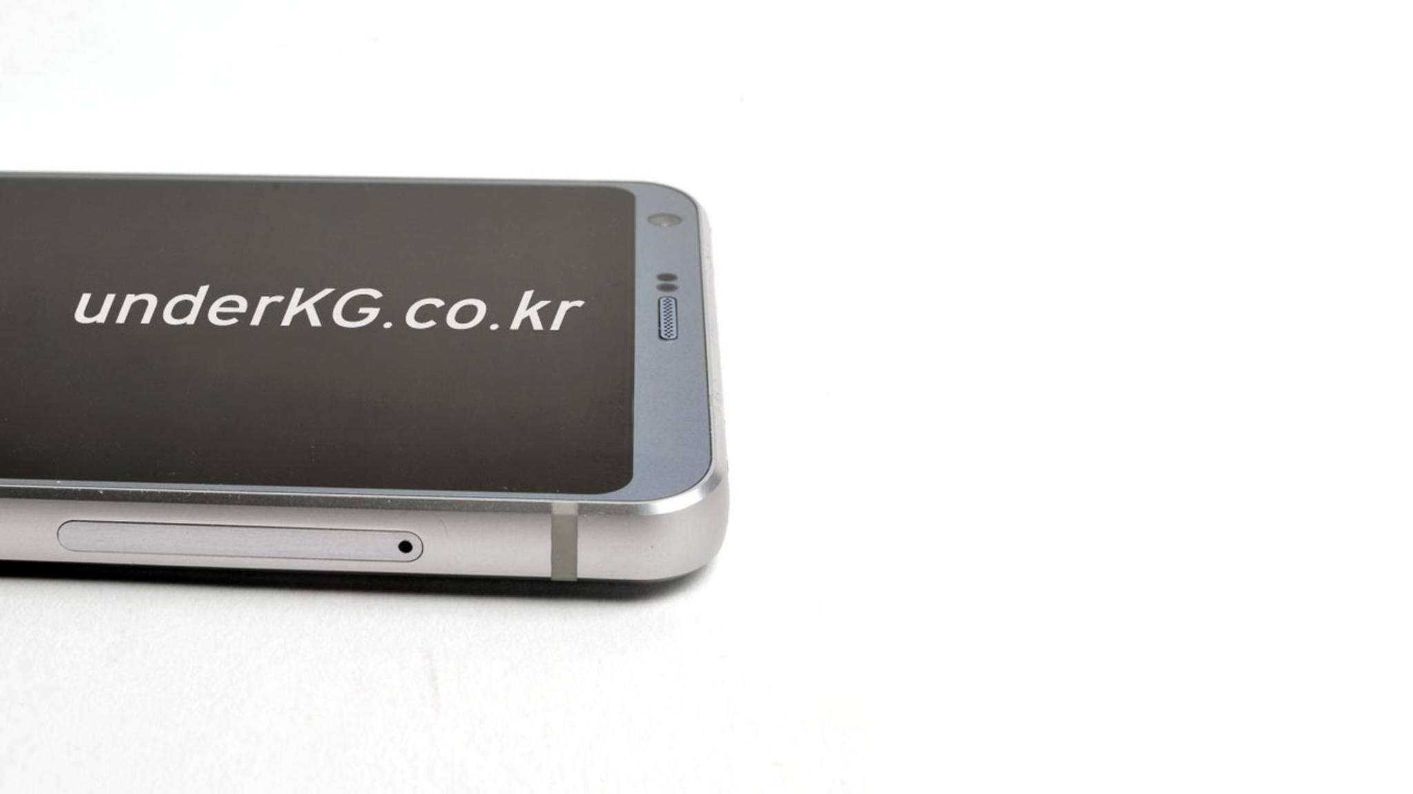 Das neueste geleakte Foto zeigt das LG G6 schräg von der Seite.
