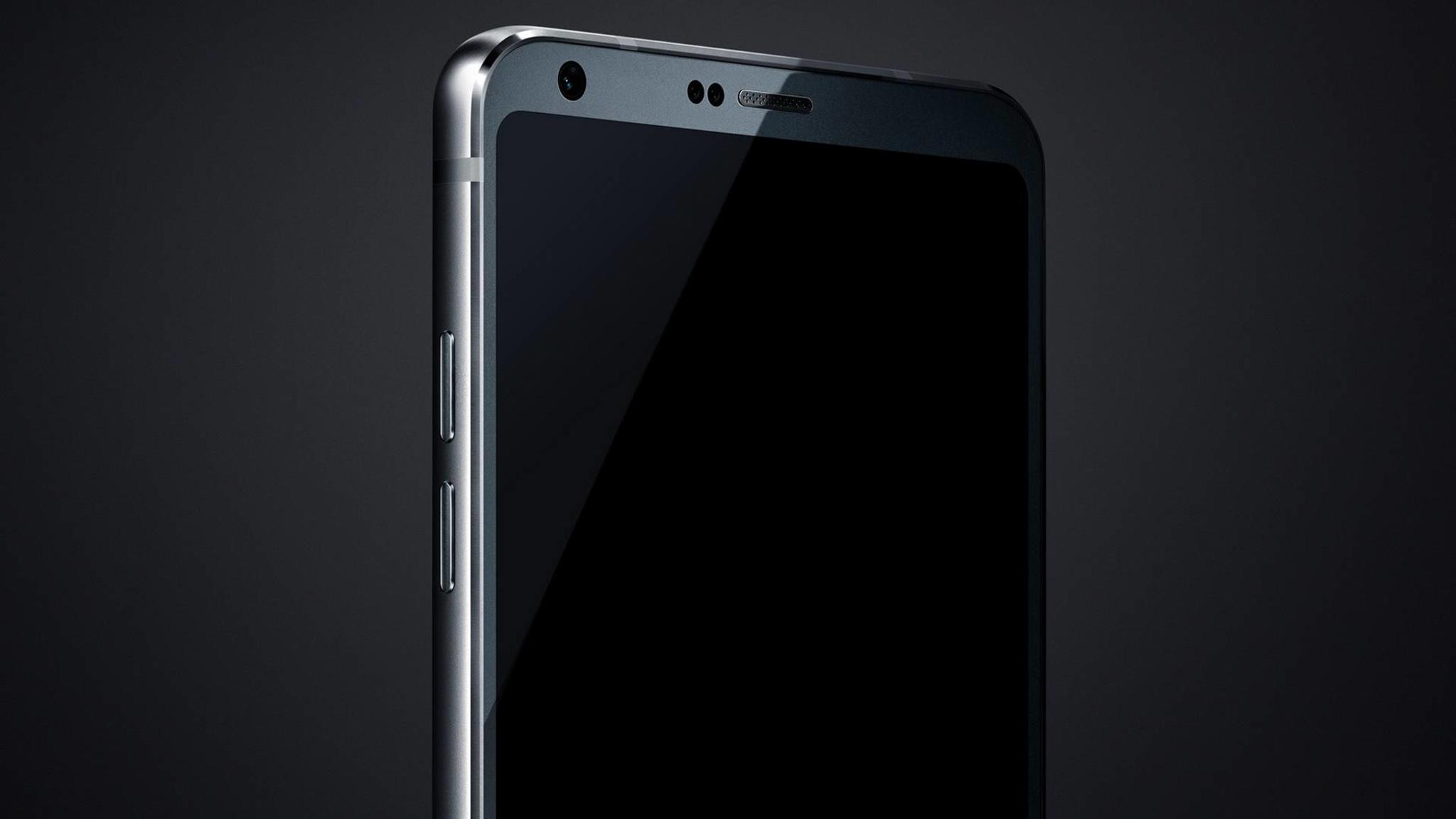 Das erste Bild vom LG G6 zeigt einen Teil des Smartphones.