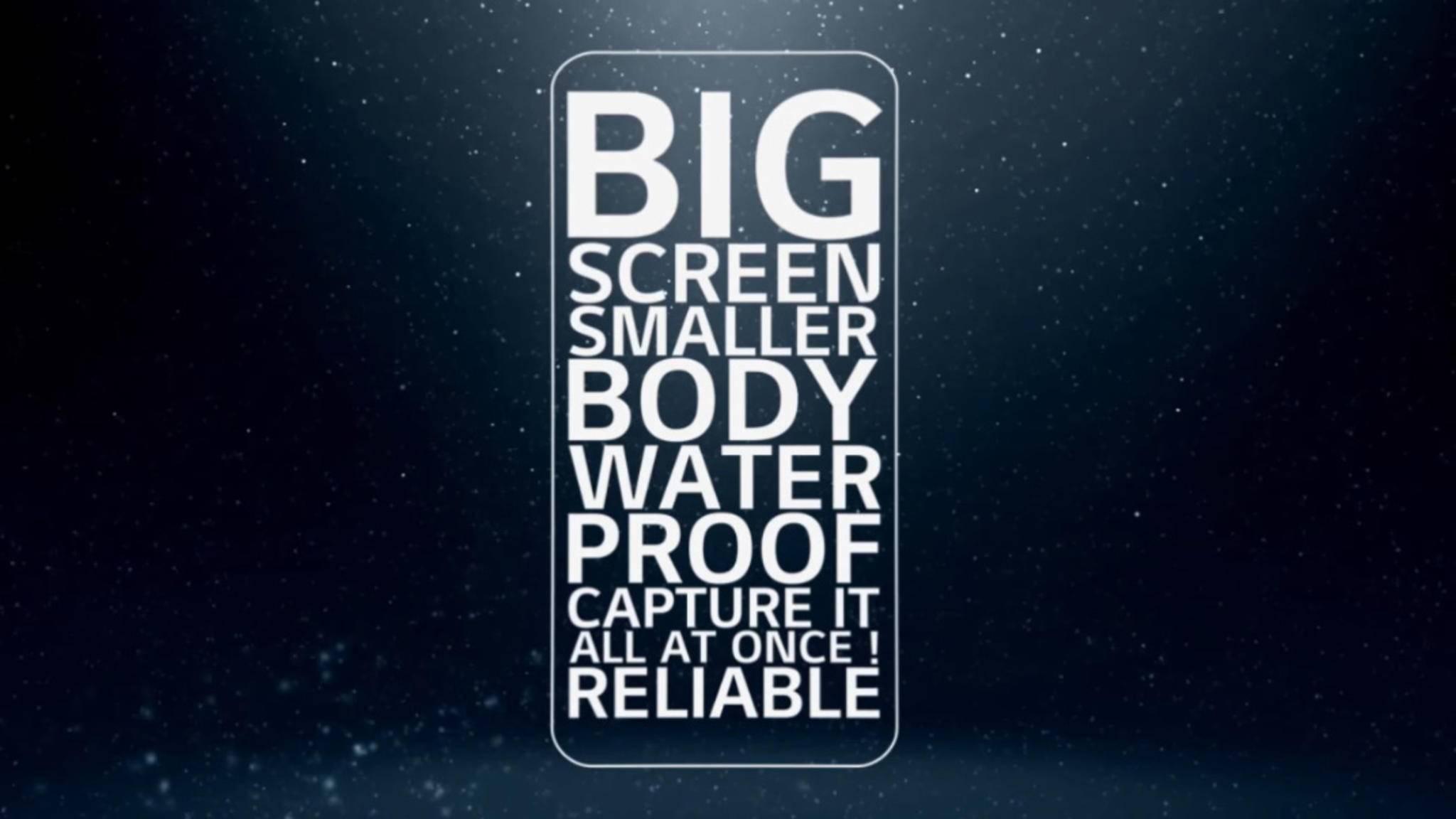 Das LG G6 hat mit einem Seitenverhältnis von 18:9 einen besonders langen Bildschirm.