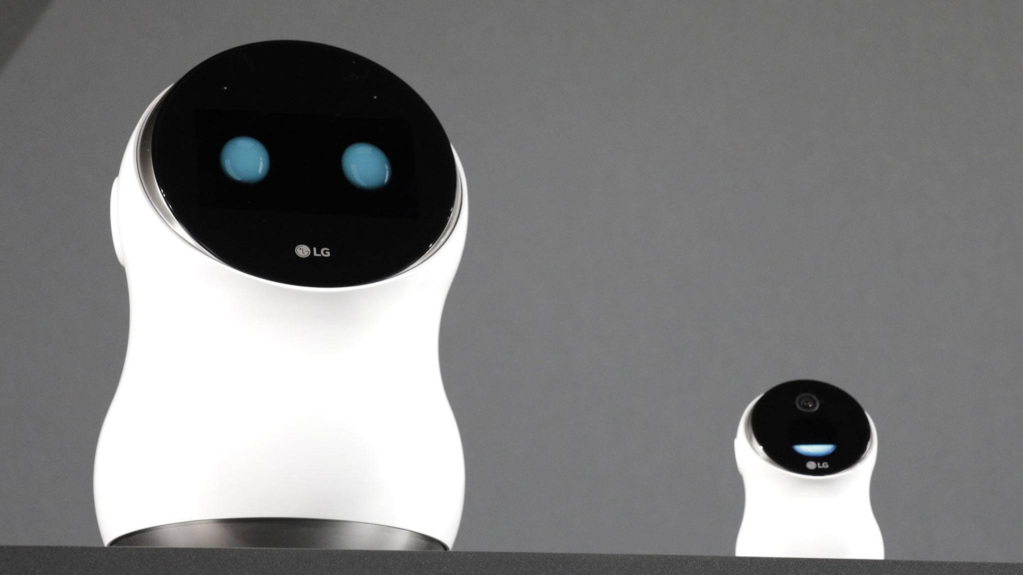 Der Hub Robot reagiert auf Spracheingaben und kann sich sogar bewegen.