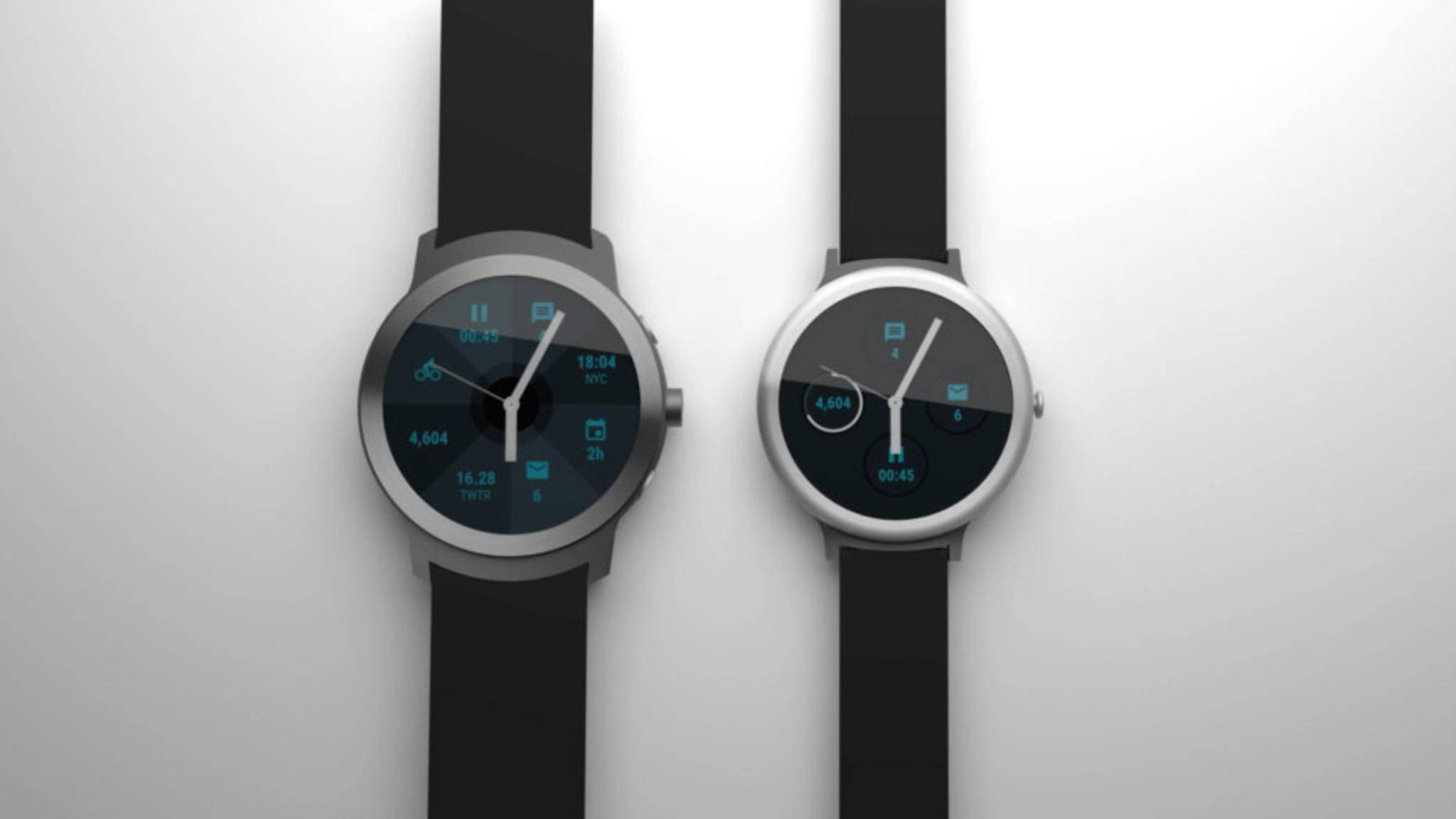LG Watch Sport und Watch Style sollen am 9. Februar gezeigt werden.