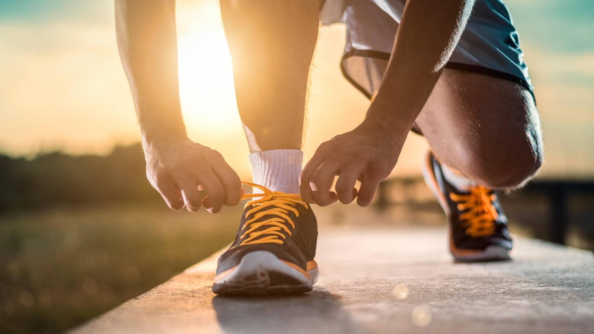 Schnürst Du die Laufschuhe nur am Wochenende? Das ist gar nicht so schlimm.