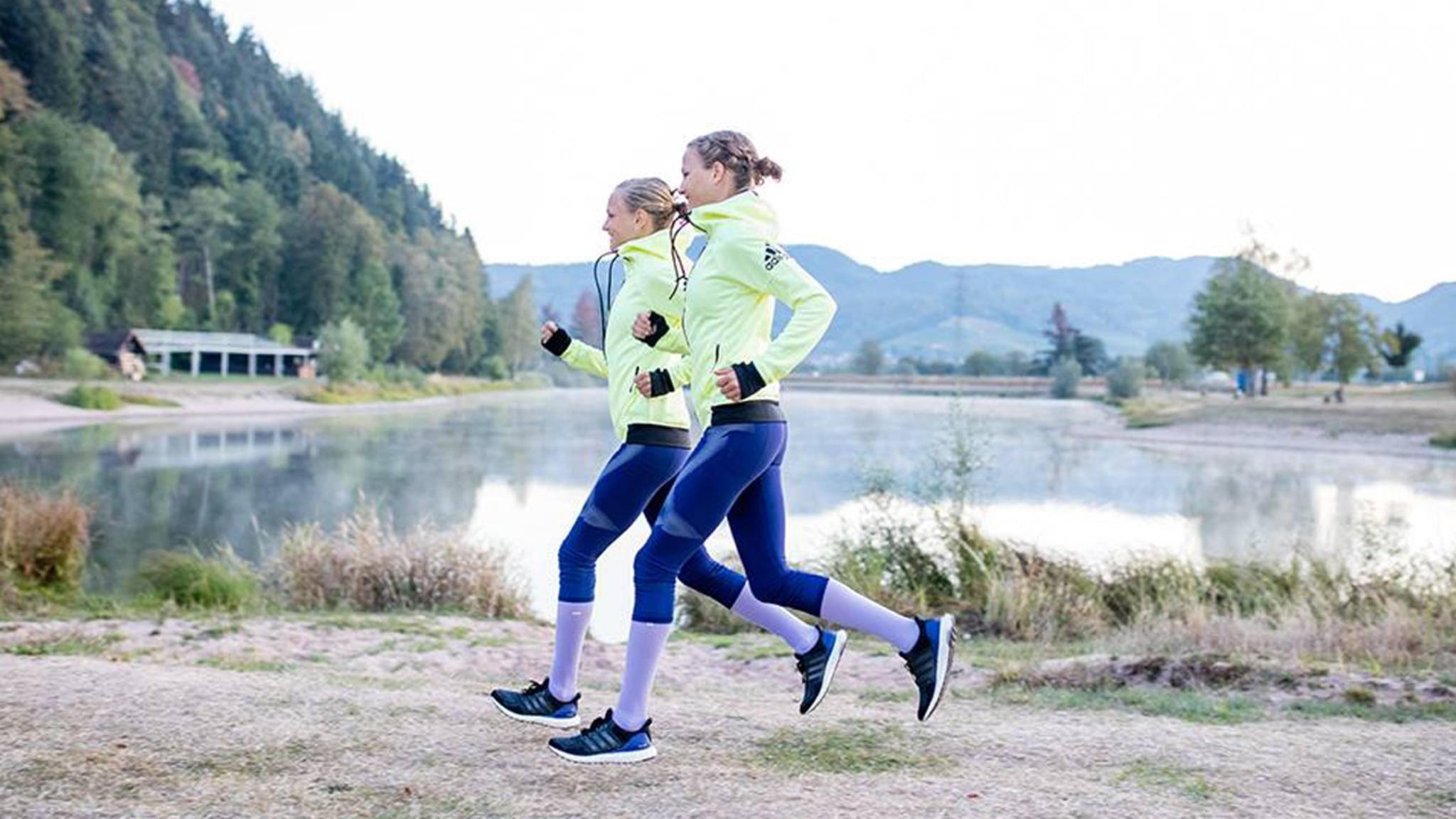 Bist Du noch kein Laufprofi wie die Hahner-Twins, musst Du vielleicht noch Dein persönliches Lauftempo finden.