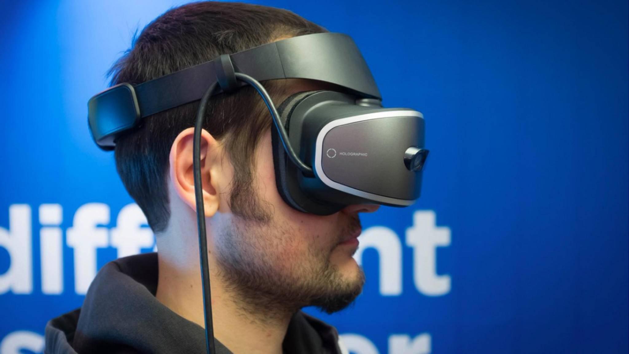 Das neue VR-Headset soll leicht und komfortabel sein.