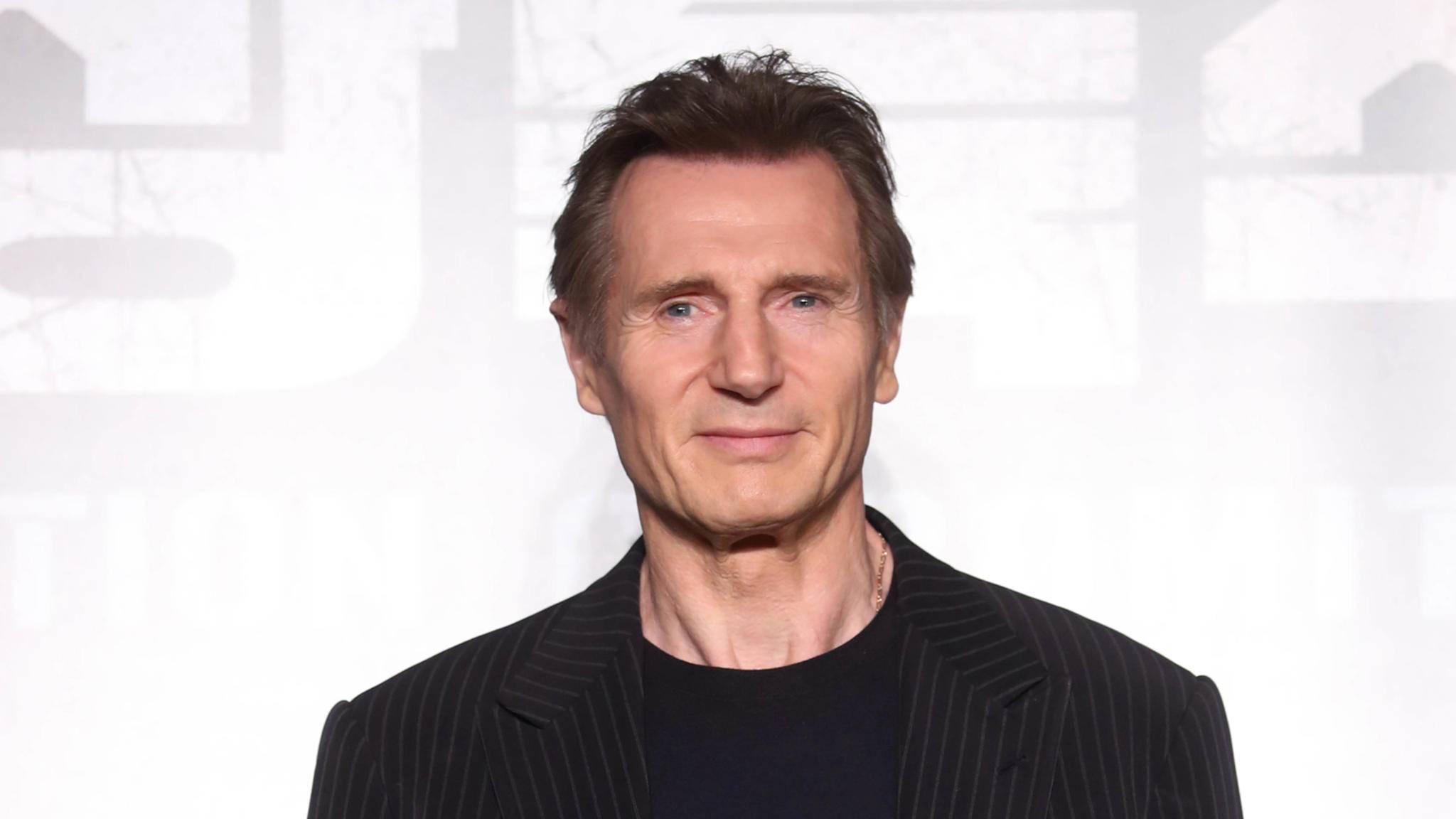 Den stechenden Blick des Geheimagenten hat er drauf, doch Liam Neeson schlugdas 007-Angebot aus.