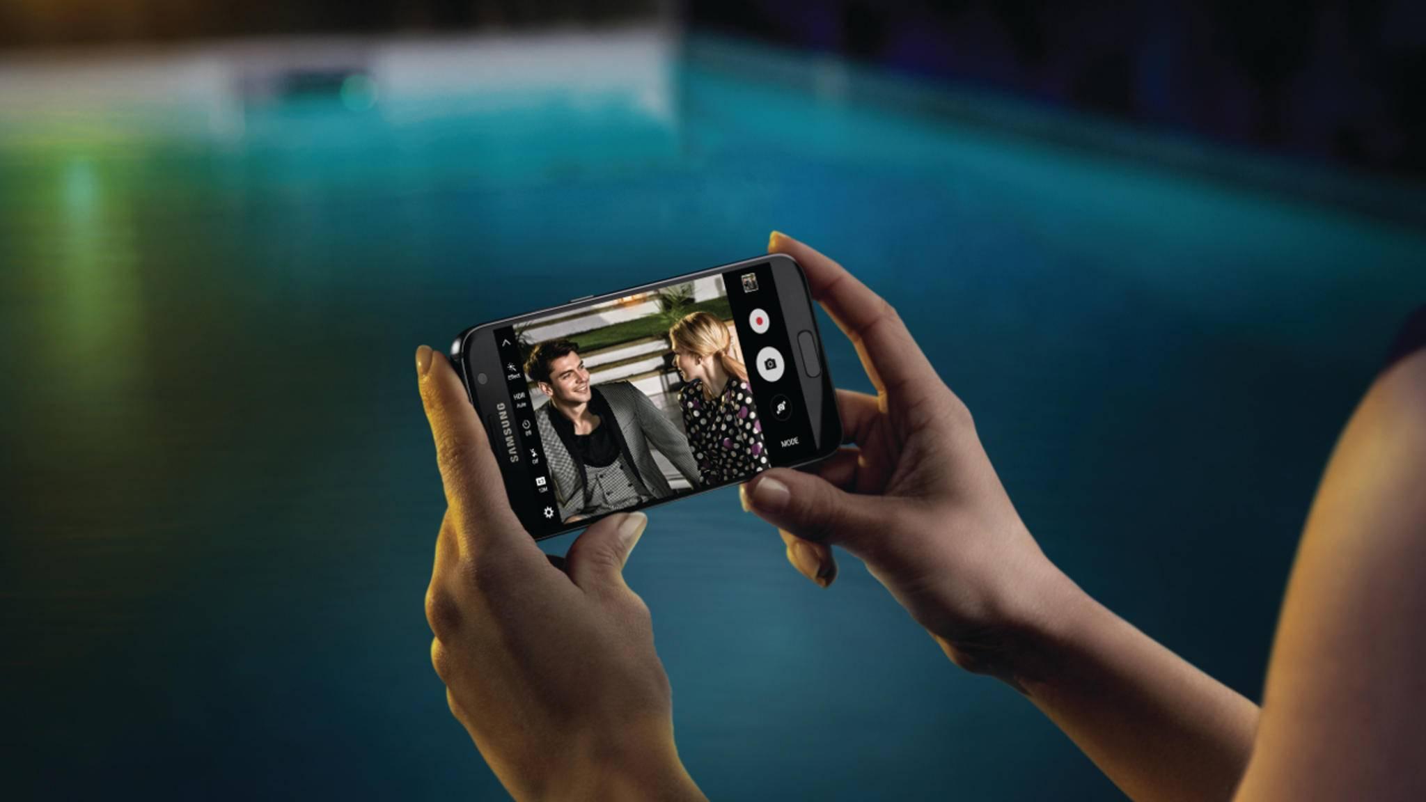 Android 7.0 Nougat sorgt auf dem Galaxy S7 für eine bessere Kamera-App.