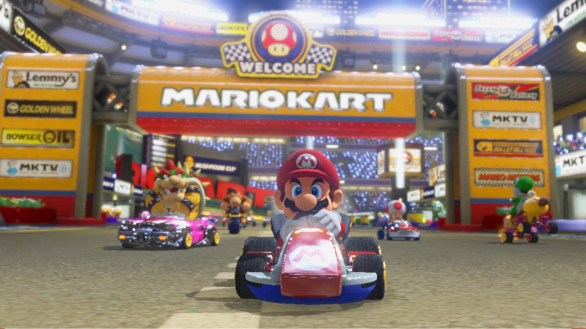 """Wie """"Mario art Tour"""" eigentlich aussieht, wissen wir noch nicht – aber ein paar Glückliche vielleicht bald schon."""
