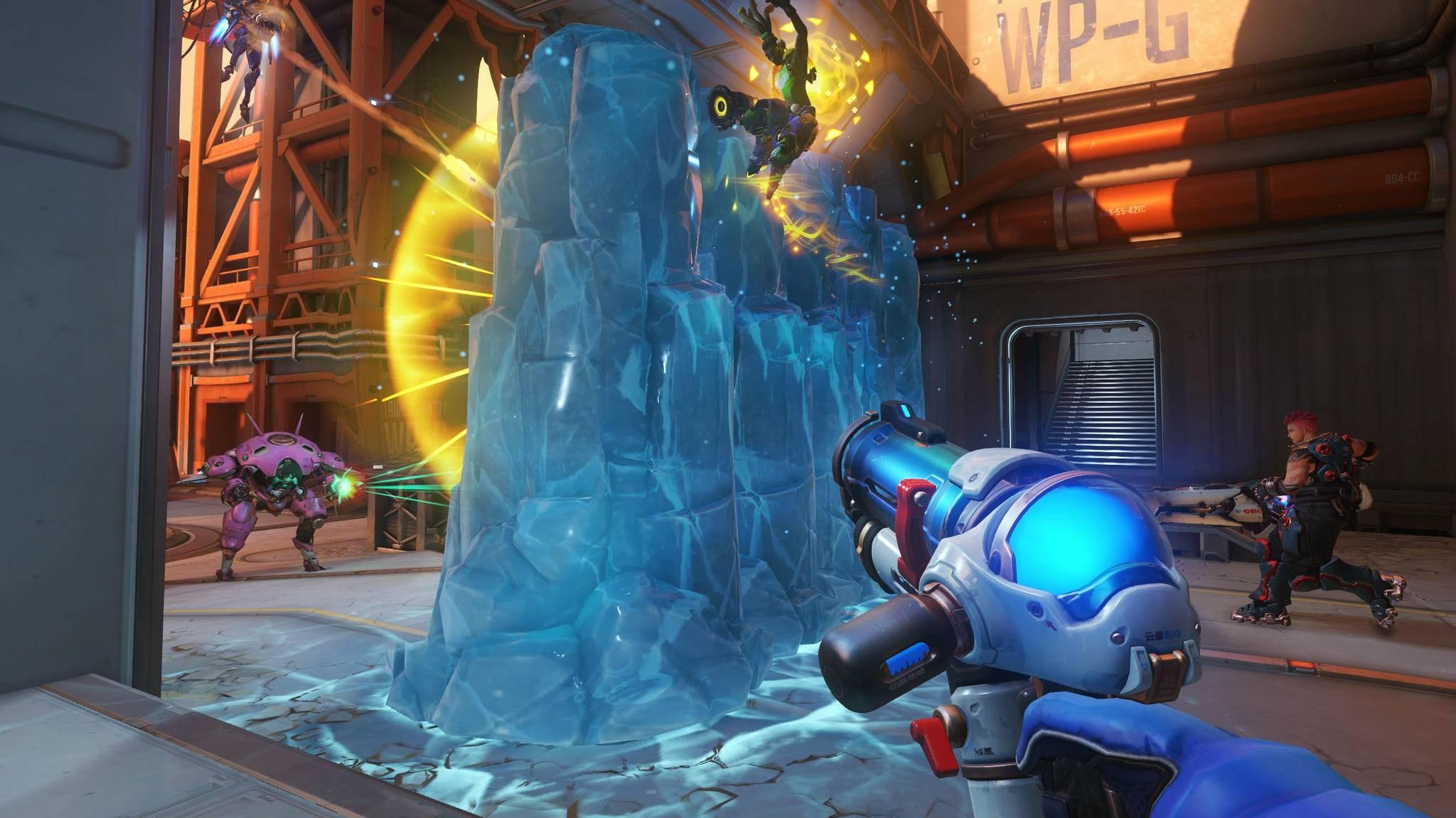 Durch einen Bug können sich Spieler mit Meis Eiswand aus dem Level heben.