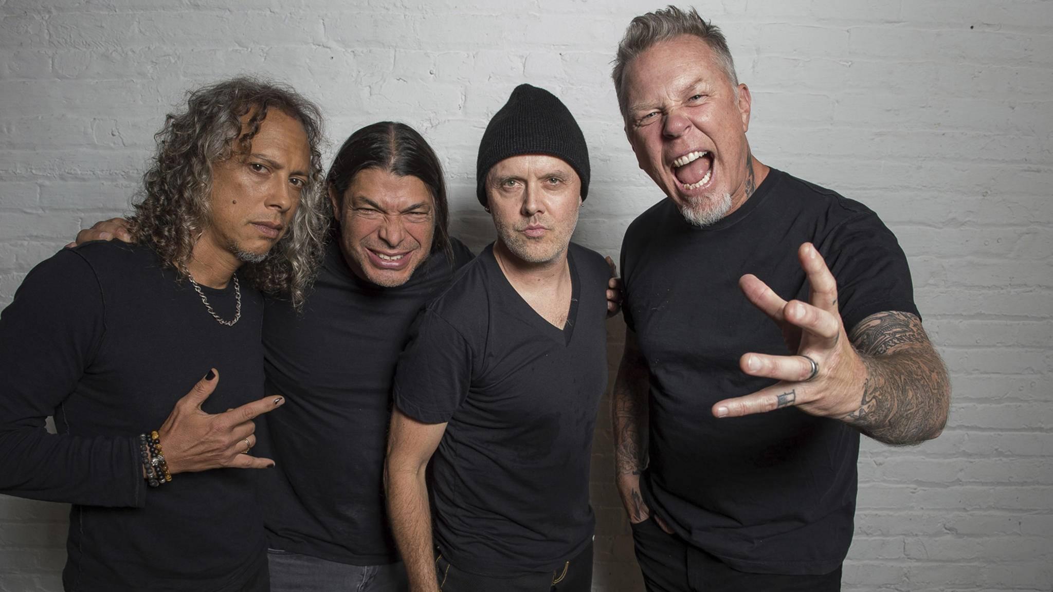 Wenn es um die besten Heavy-Metal-Alben geht, dürfen die Altmeister Metallica natürlich nicht fehlen.
