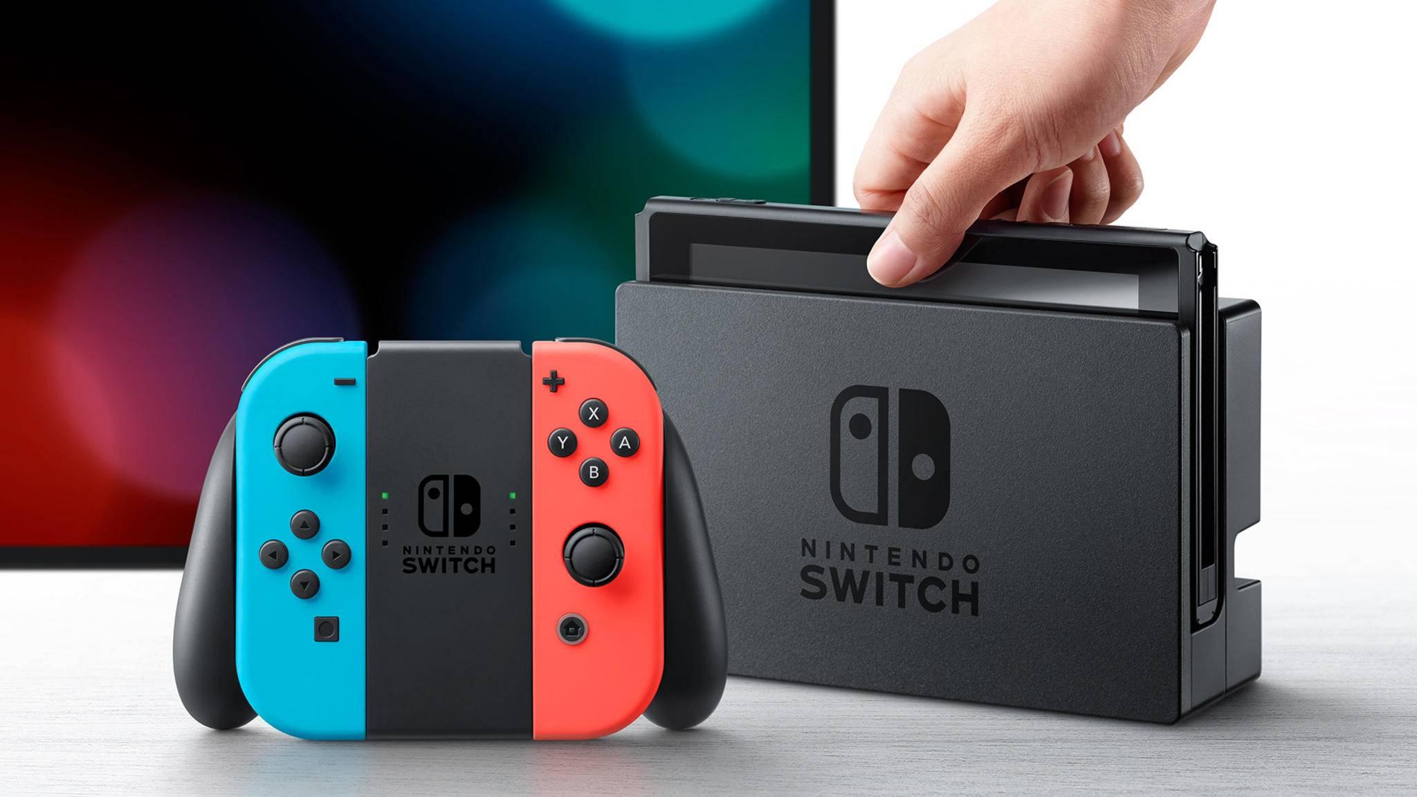 Angeblich soll das verbesserte Switch-Modell ein OLED-Display besitzen.