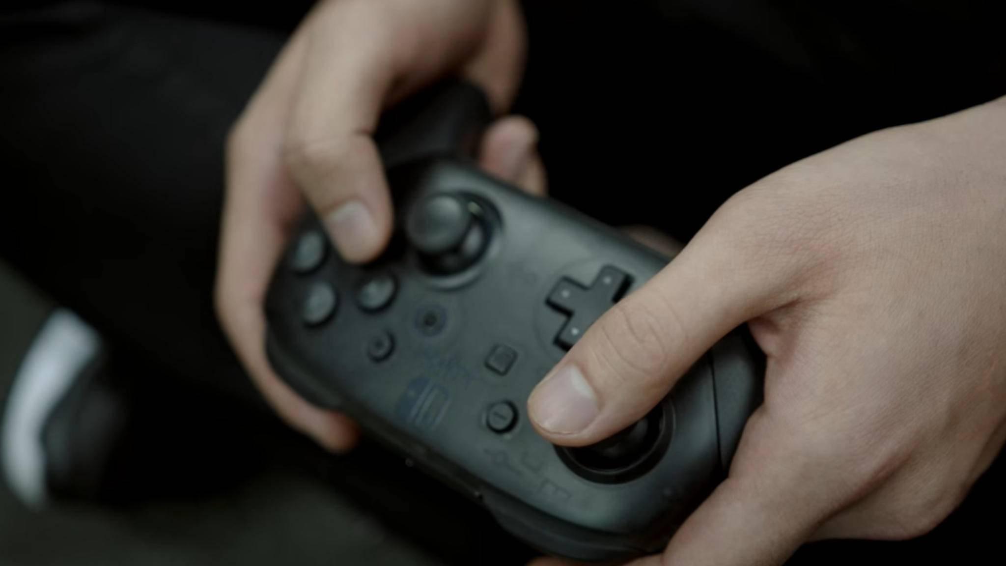 Der Nintendo Switch Pro Controller hat jetzt Steam-Support.