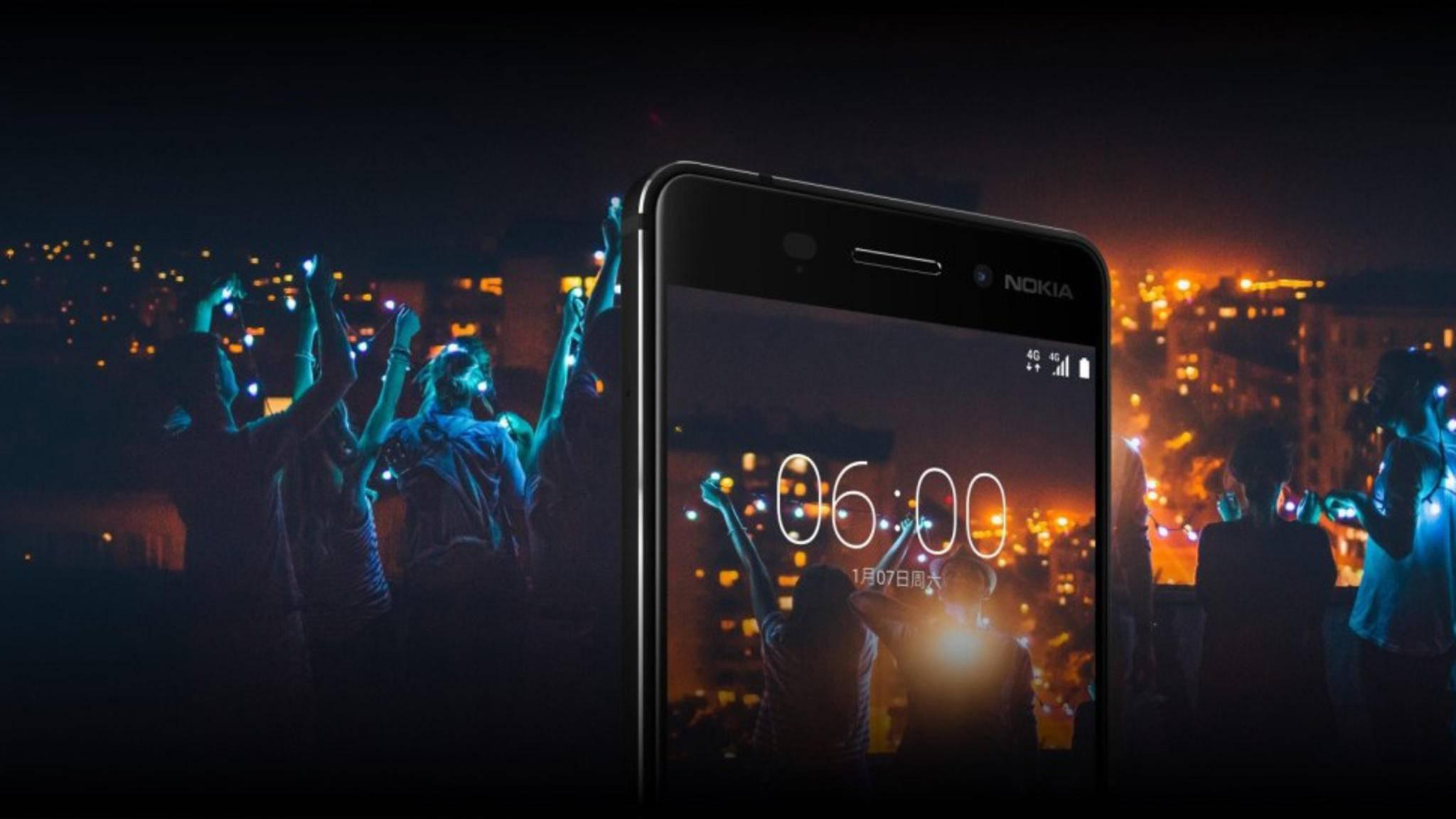 Hat keine Kameralinse von Carl Zeiss mehr: das Nokia 6.