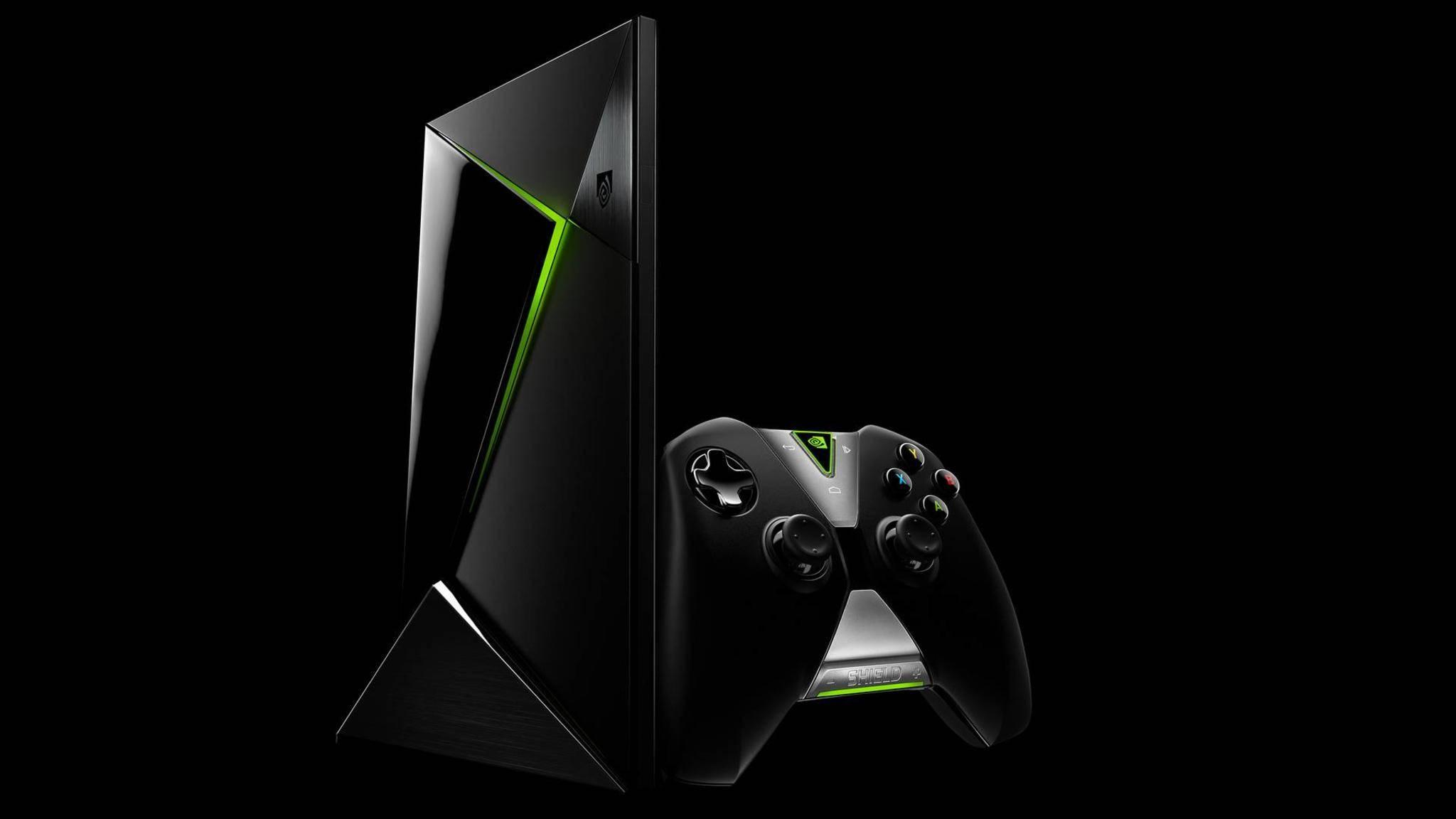 Die Set-Top-Box Nvidia Shield TV erhält Android 7.0.