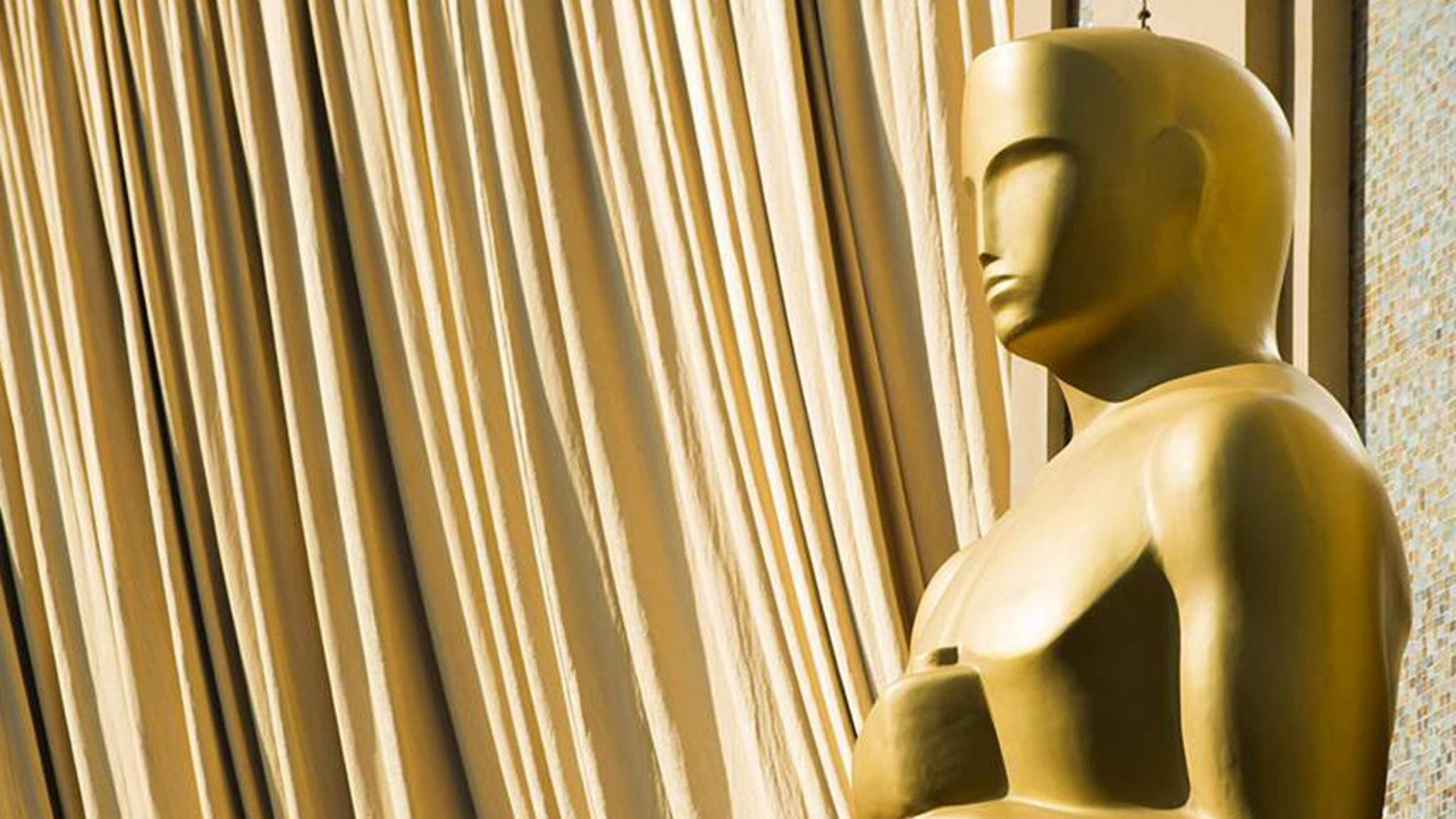 Am Ende bleibt bei den Oscars wohl doch besser alles beim Alten ...