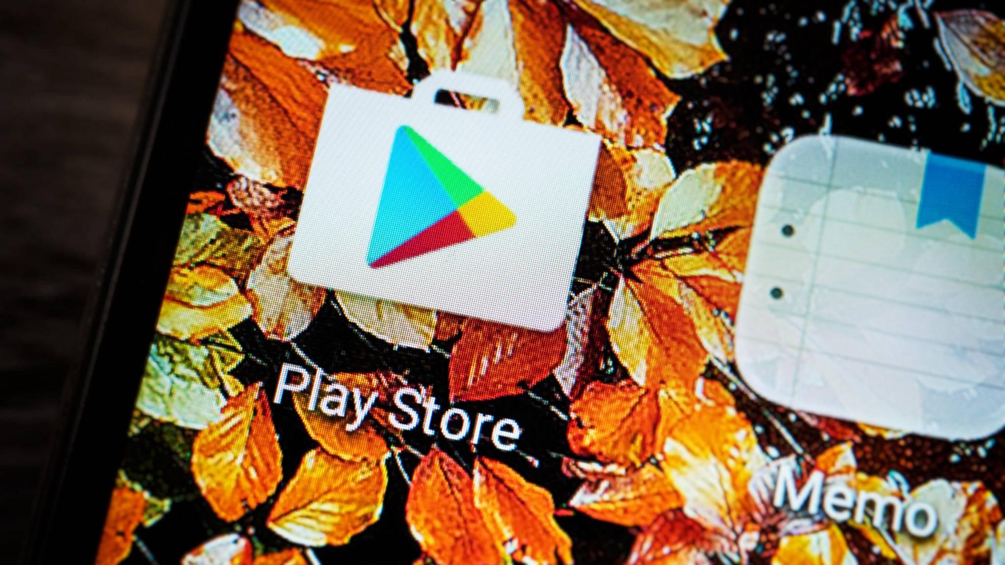 Der Google Play Store war am Sonntag für viele Android-Nutzer nicht zu erreichen.