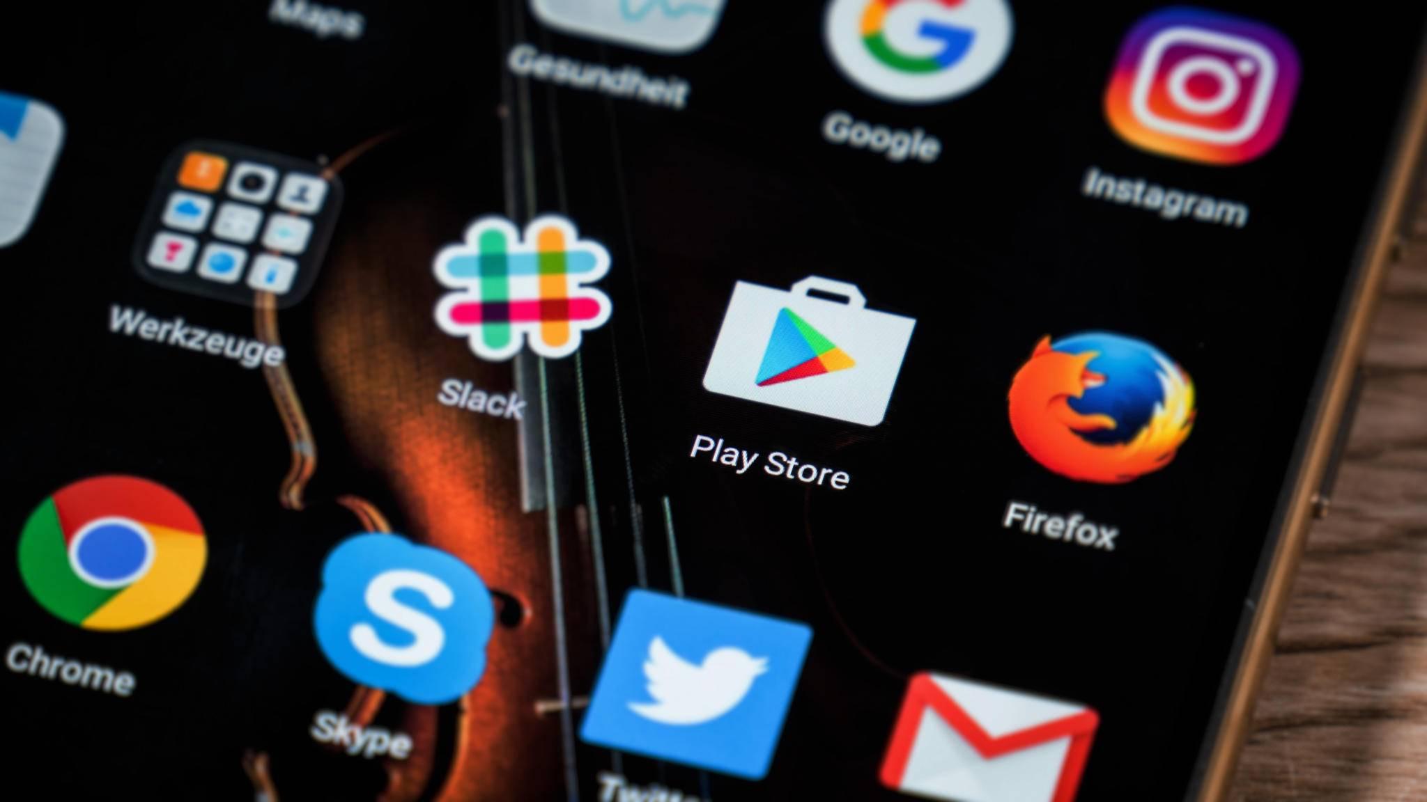 Beim Fehler RH-01 im Google Play Store gibt es verschiedene Lösungen.