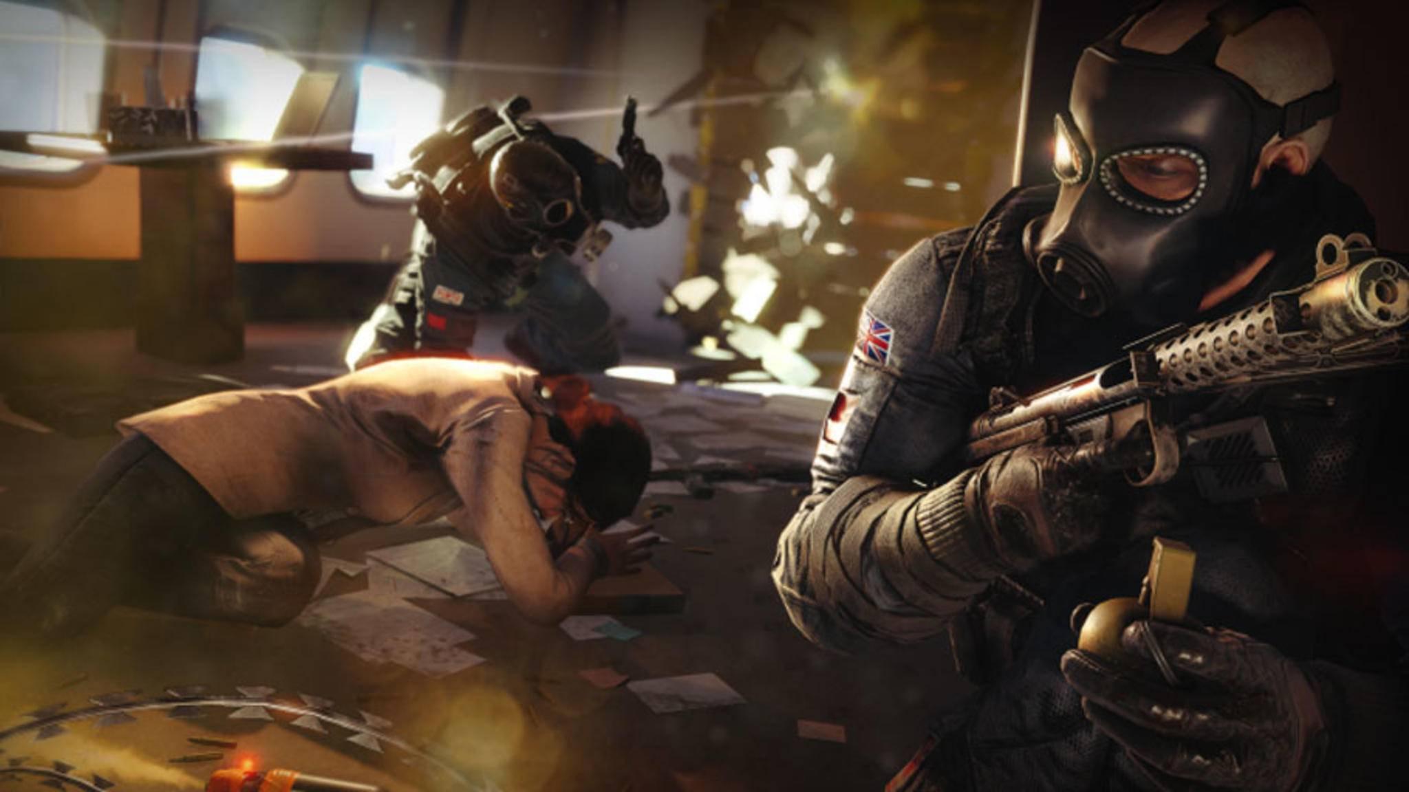 """Ubisoft rüstet die Server für """"Rainbow Six: Siege"""" auf."""