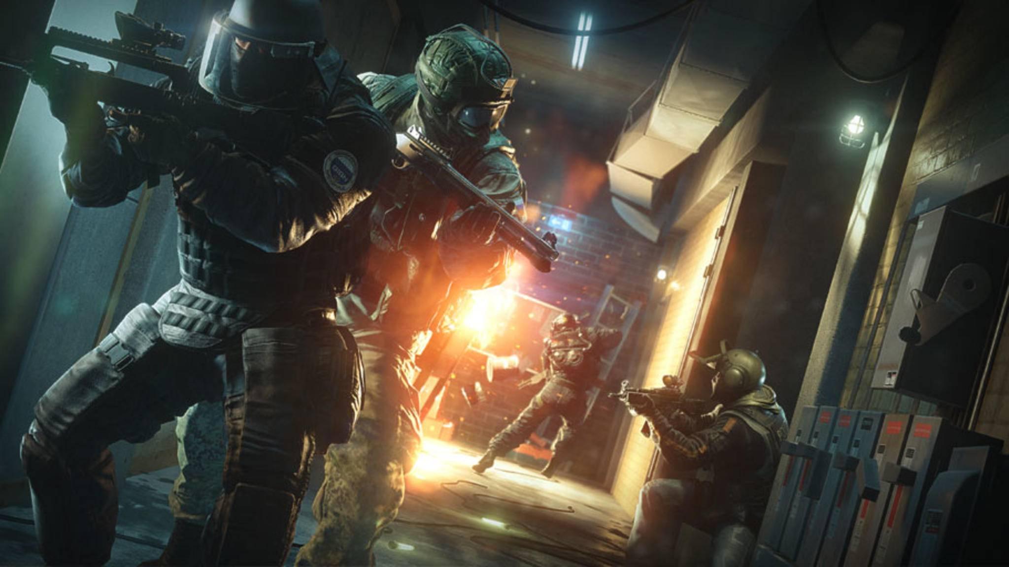 """Ubisoft bietet Spielern ein Gratis-Wochenende um """"Rainbow Six: Siege"""" auszuprobieren."""