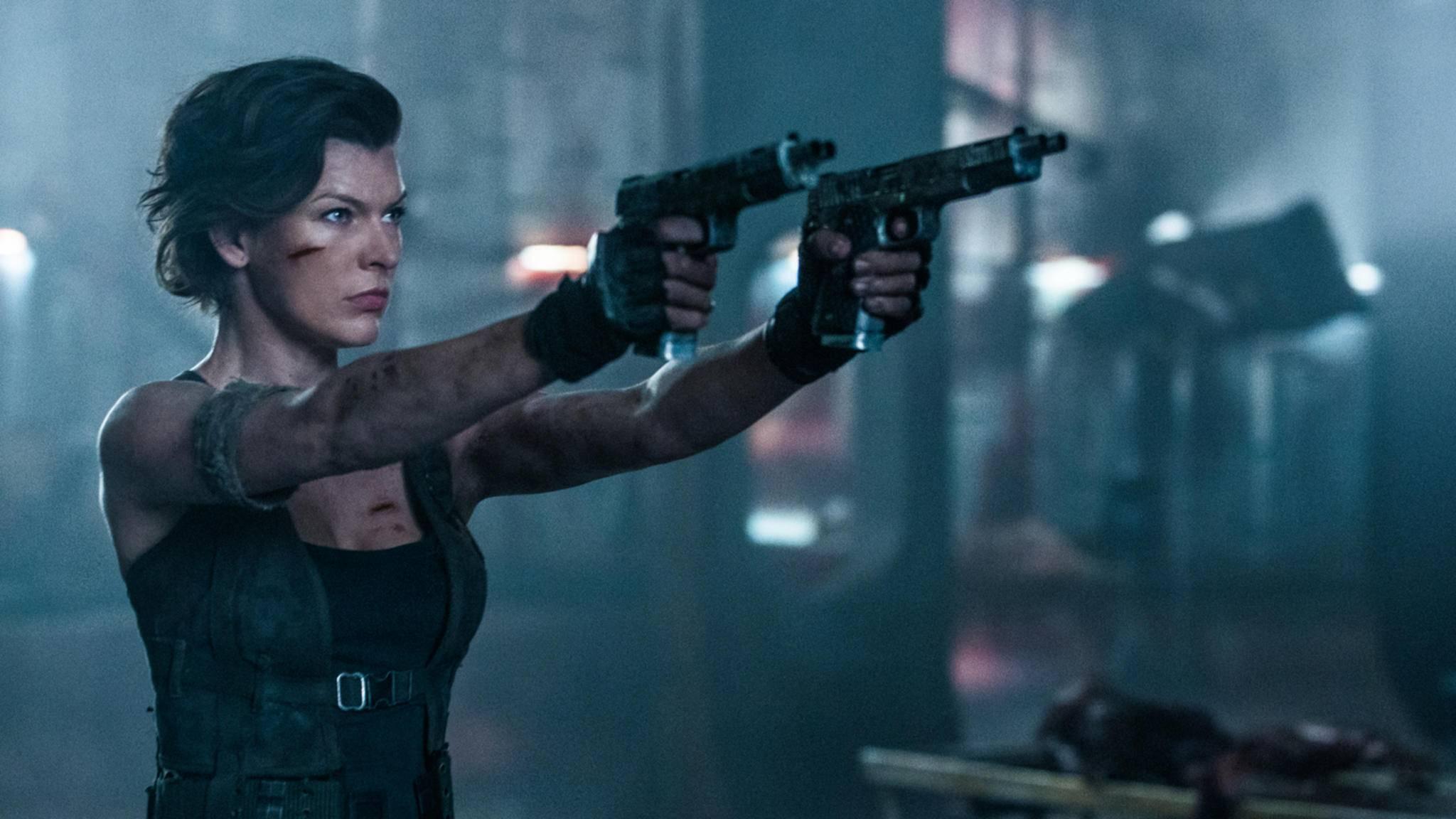 Zombies sind für Milla Jovovich kein Problem – aber wie sieht's mit gigantisch großen Monstern aus?