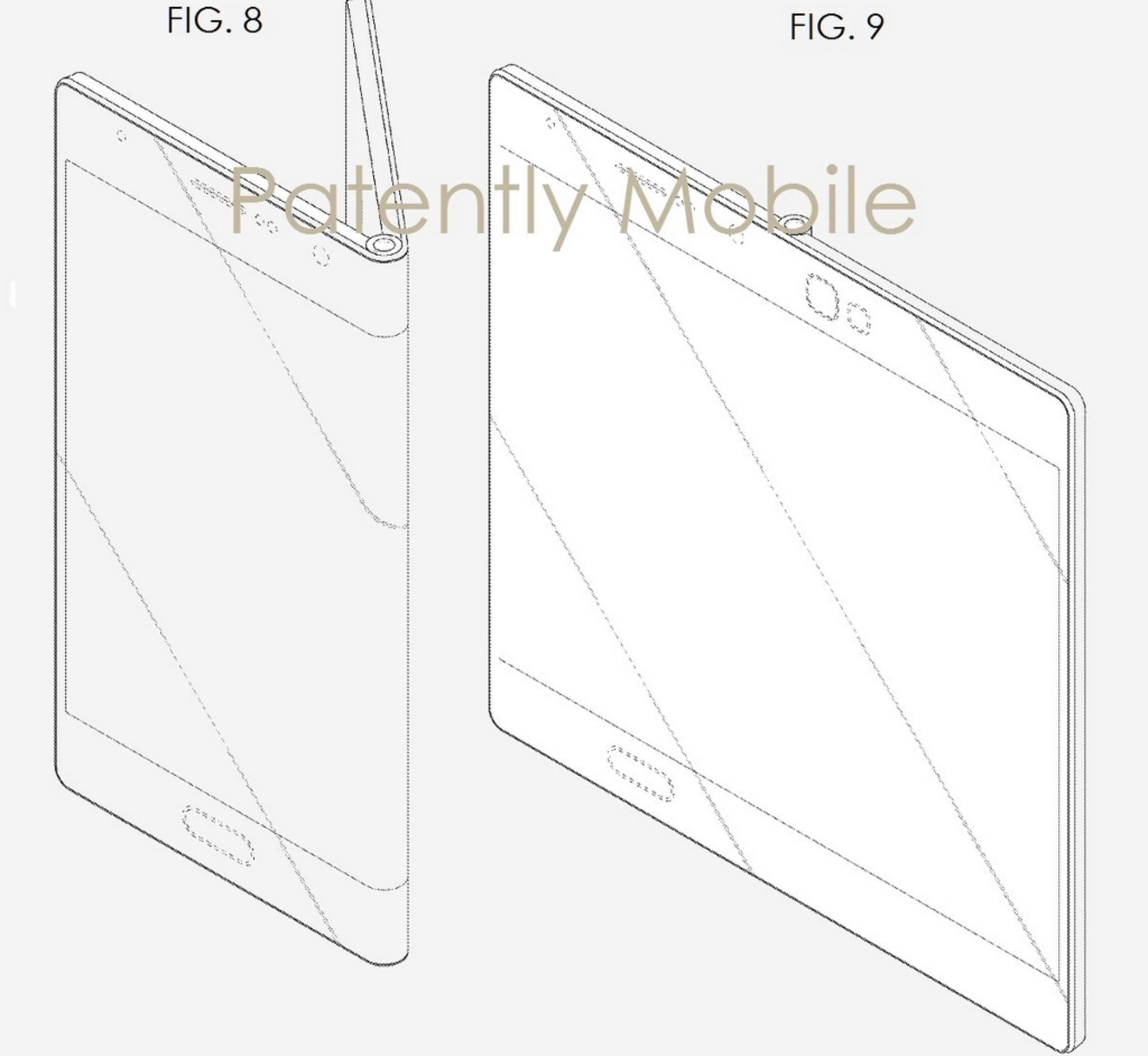 So könnte das Samsung Galaxy X aussehen.