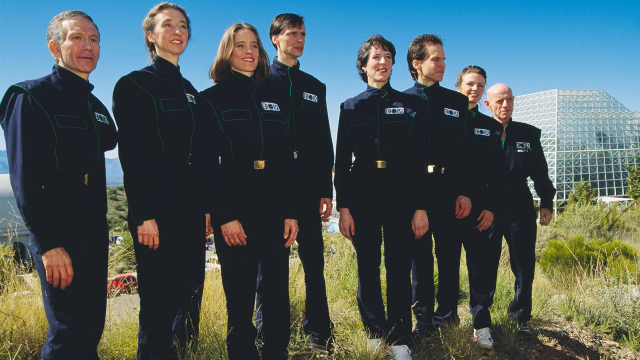 Biosphäre 2: Zwei Jahre probten acht Menschen das Zusammenleben.