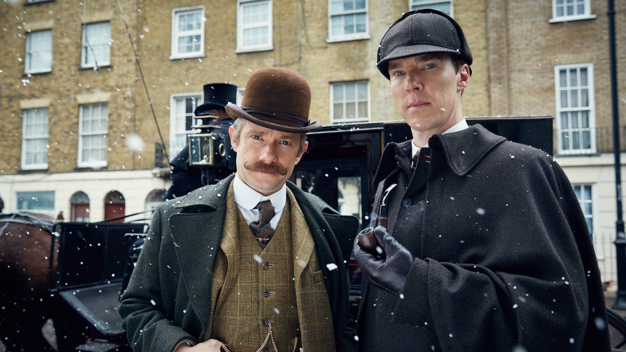 """Bis Benedict Cumberbatch und Martin Freeman wieder in """"Sherlock"""" zu sehen sein werden, wird es einige Zeit dauern!"""