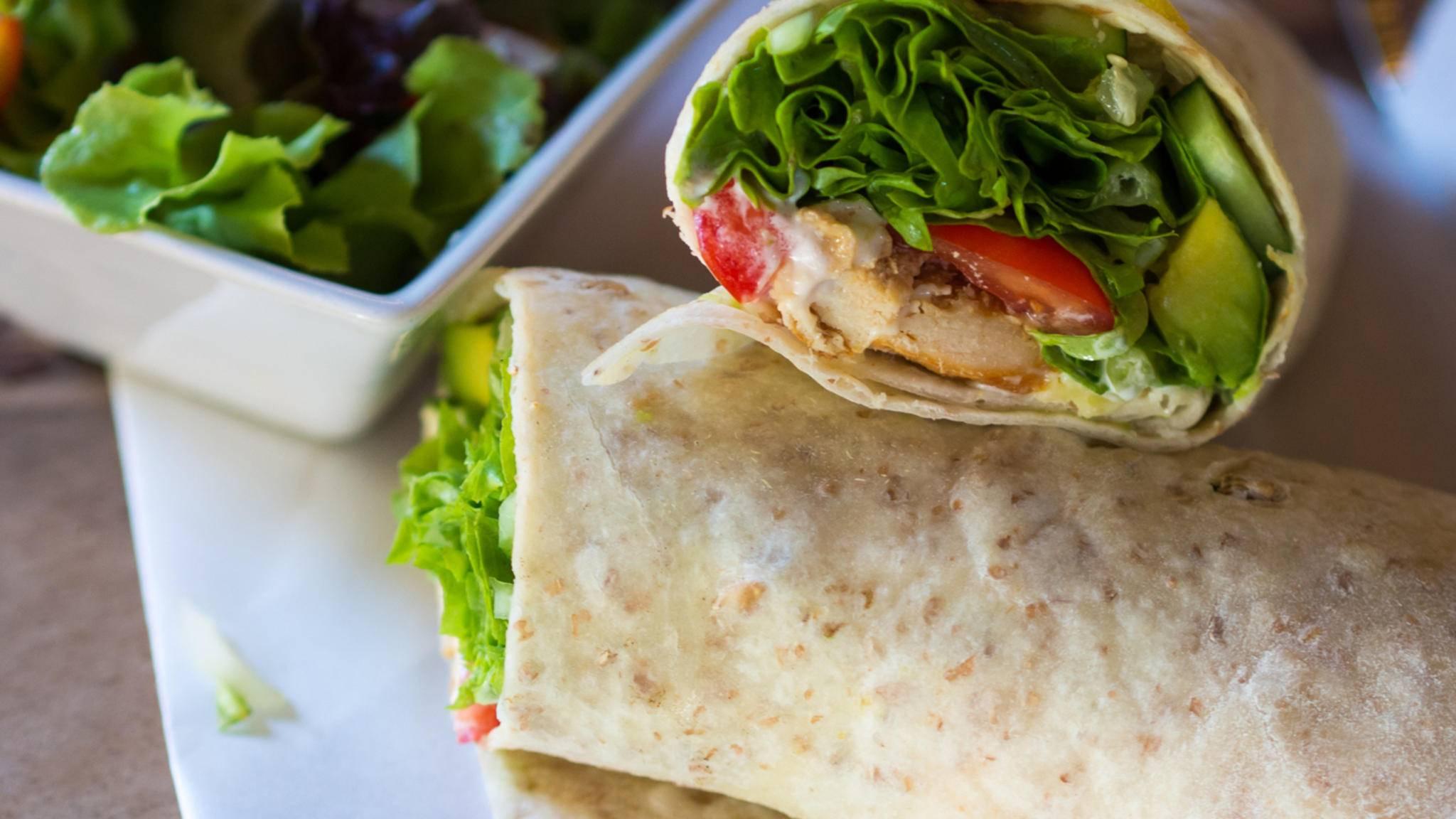 Leckere Wraps sind ohne Tortillas aus Weizen- oder Maismehl undenkbar.