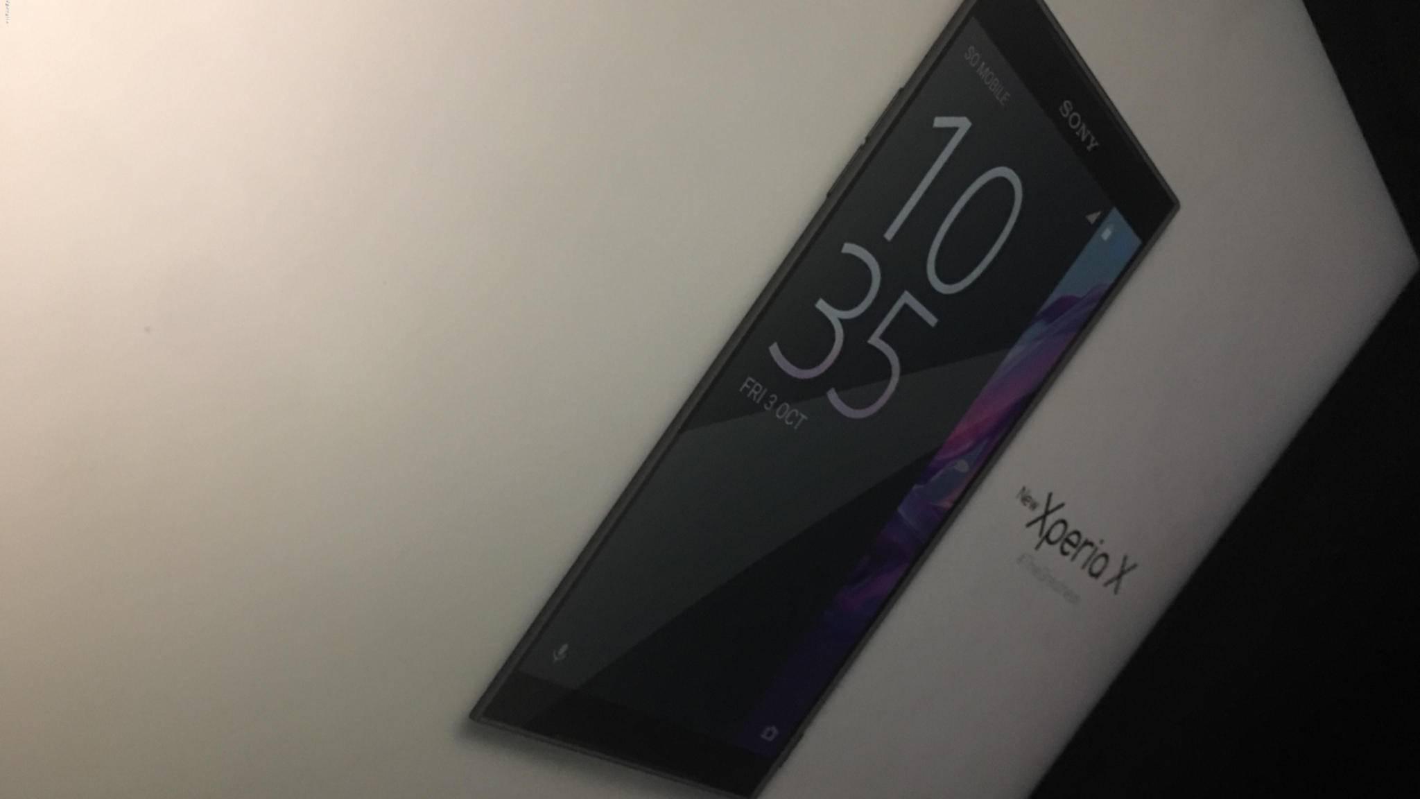 Dieses Foto soll das kommende Smartphone Sony Xperia X (2017) zeigen.