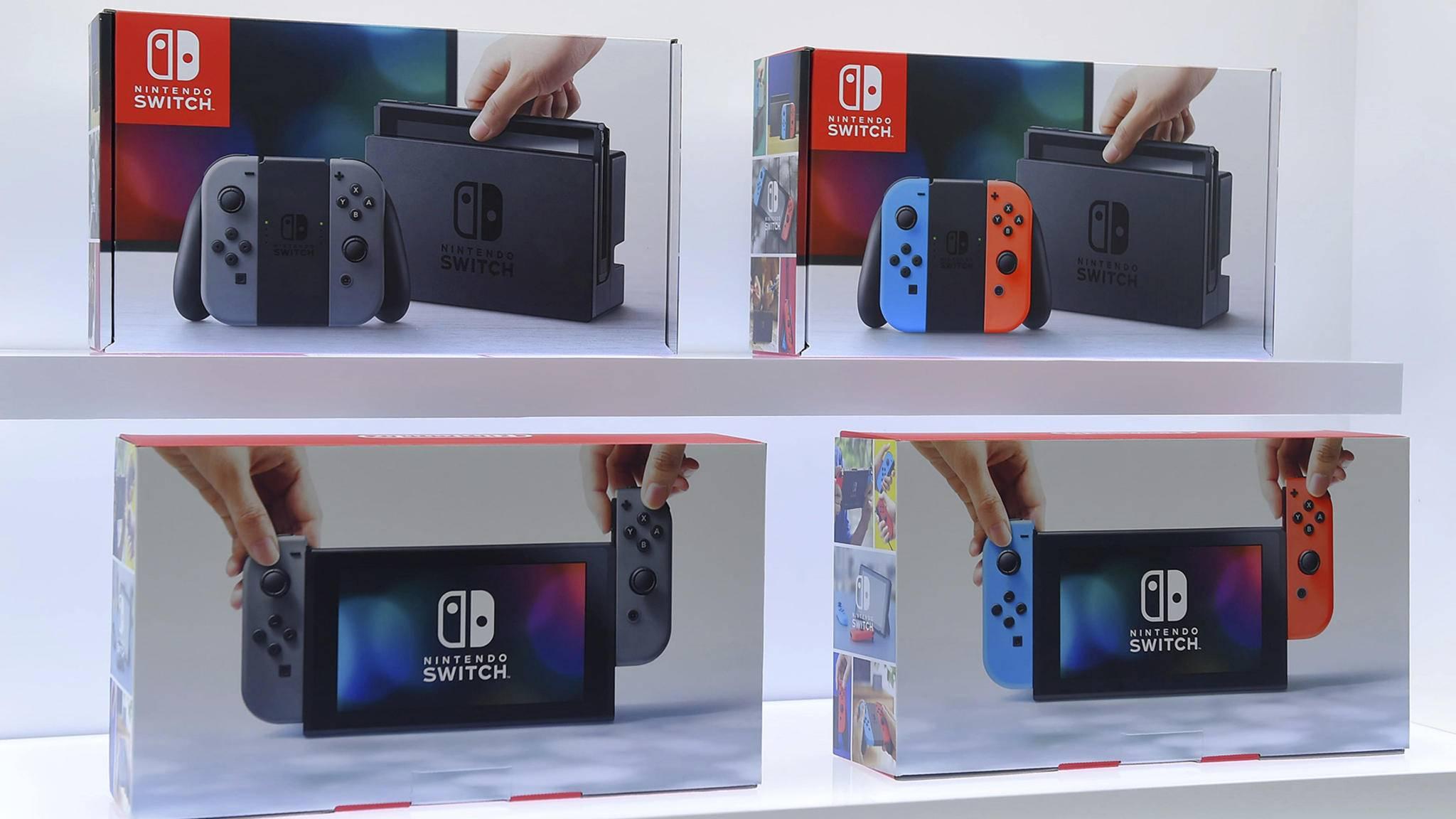 Gerade präsentiert, schon vorbestellbar: Die Nintendo Switch.