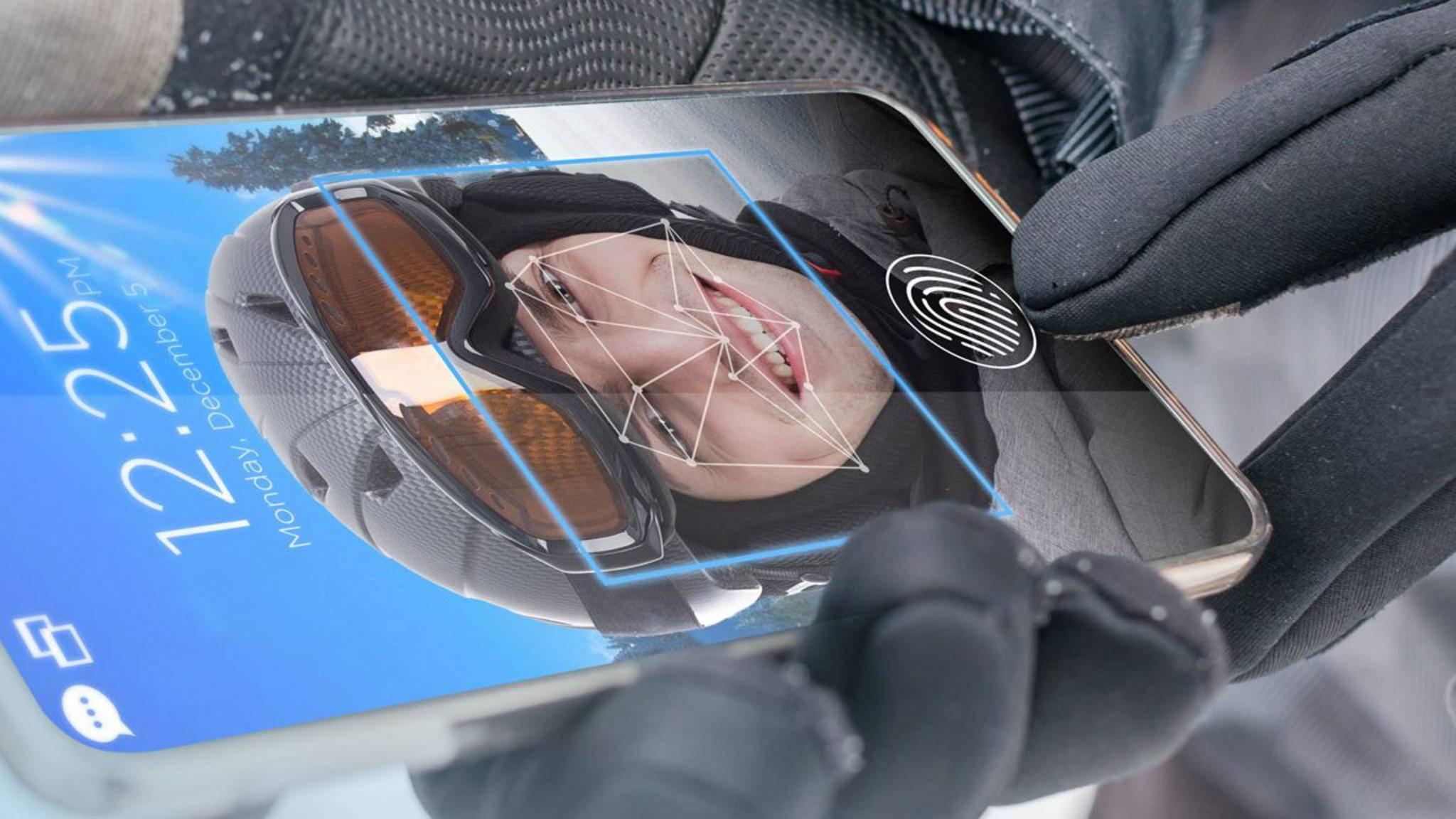 Gesichtserkennung mithilfe künstlicher Intelligenz: Selbst ein Blinzeln wird registriert.