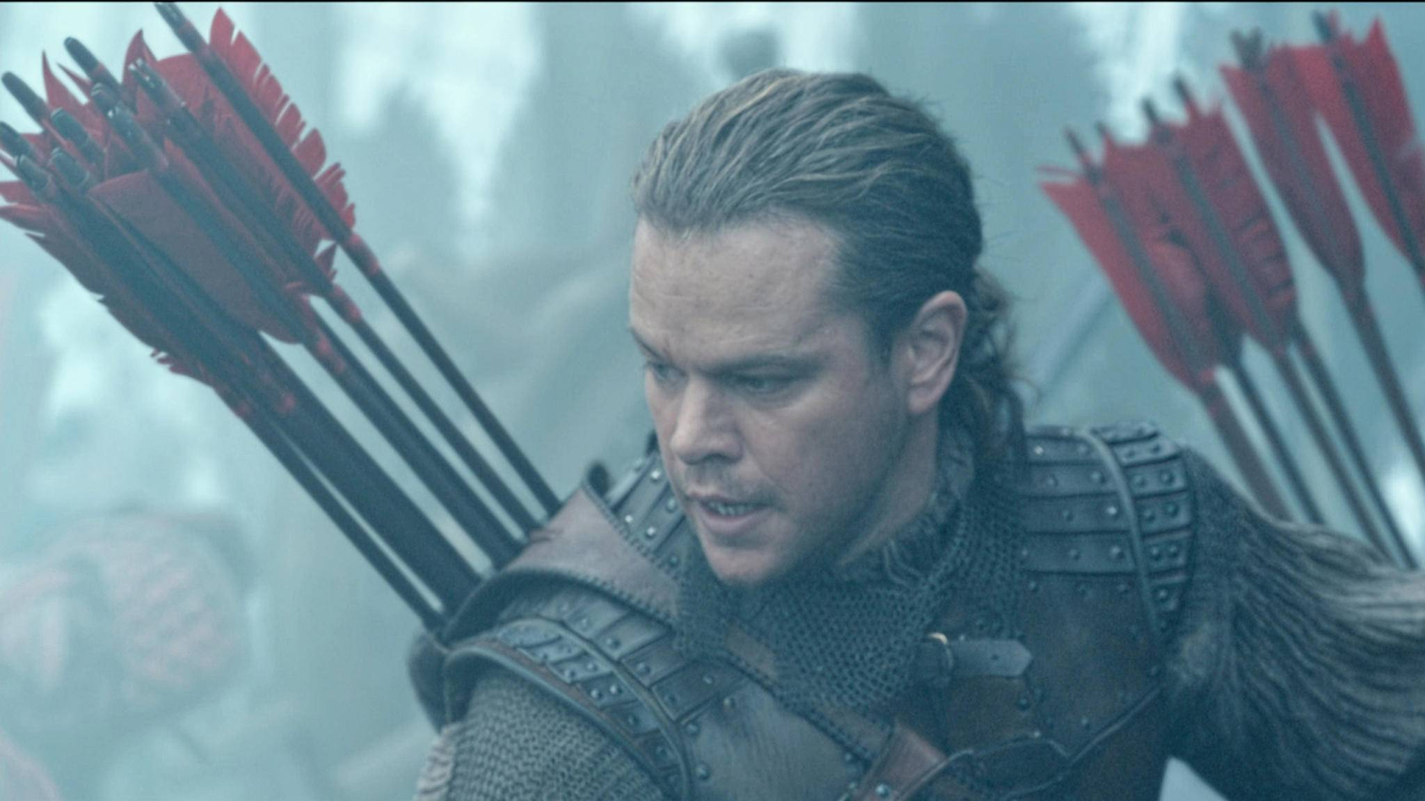 """Matt Damon bekommt es in """"The Great Wall"""" mit monströsen Angreifern zu tun."""