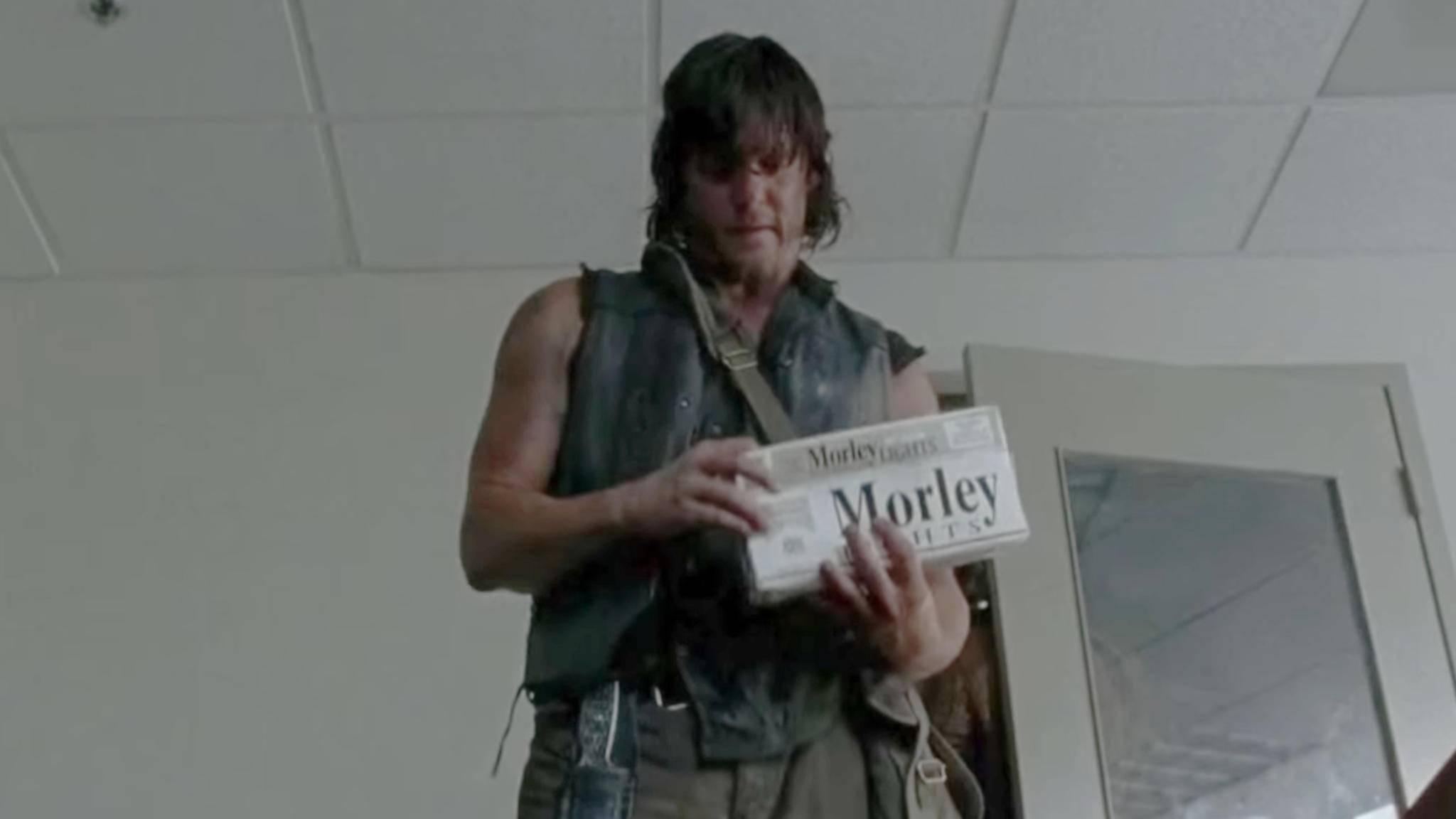 """Die Zigarettenmarke Morley gibt es nicht nur in """"The Walking Dead""""."""