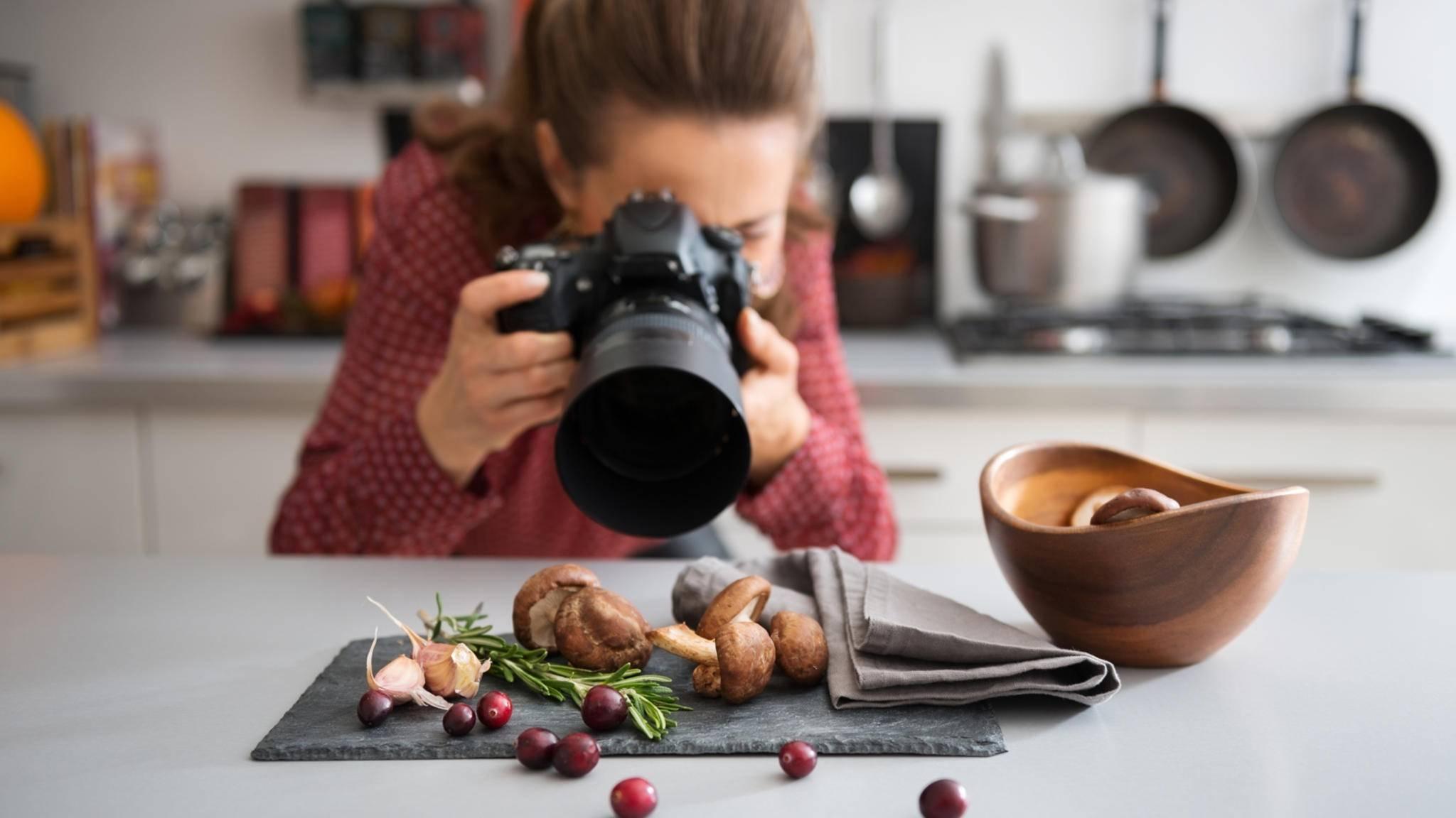 Licht, Kamera, Essen! Mit ein paar Tipps gelingen Food-Fotos perfekt!