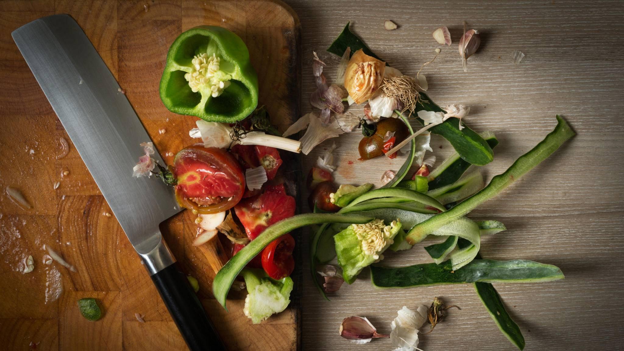 Zu schade zum Wegschmeißen: Sterneköche kochen in London aus Küchenresten ganze Menüs.