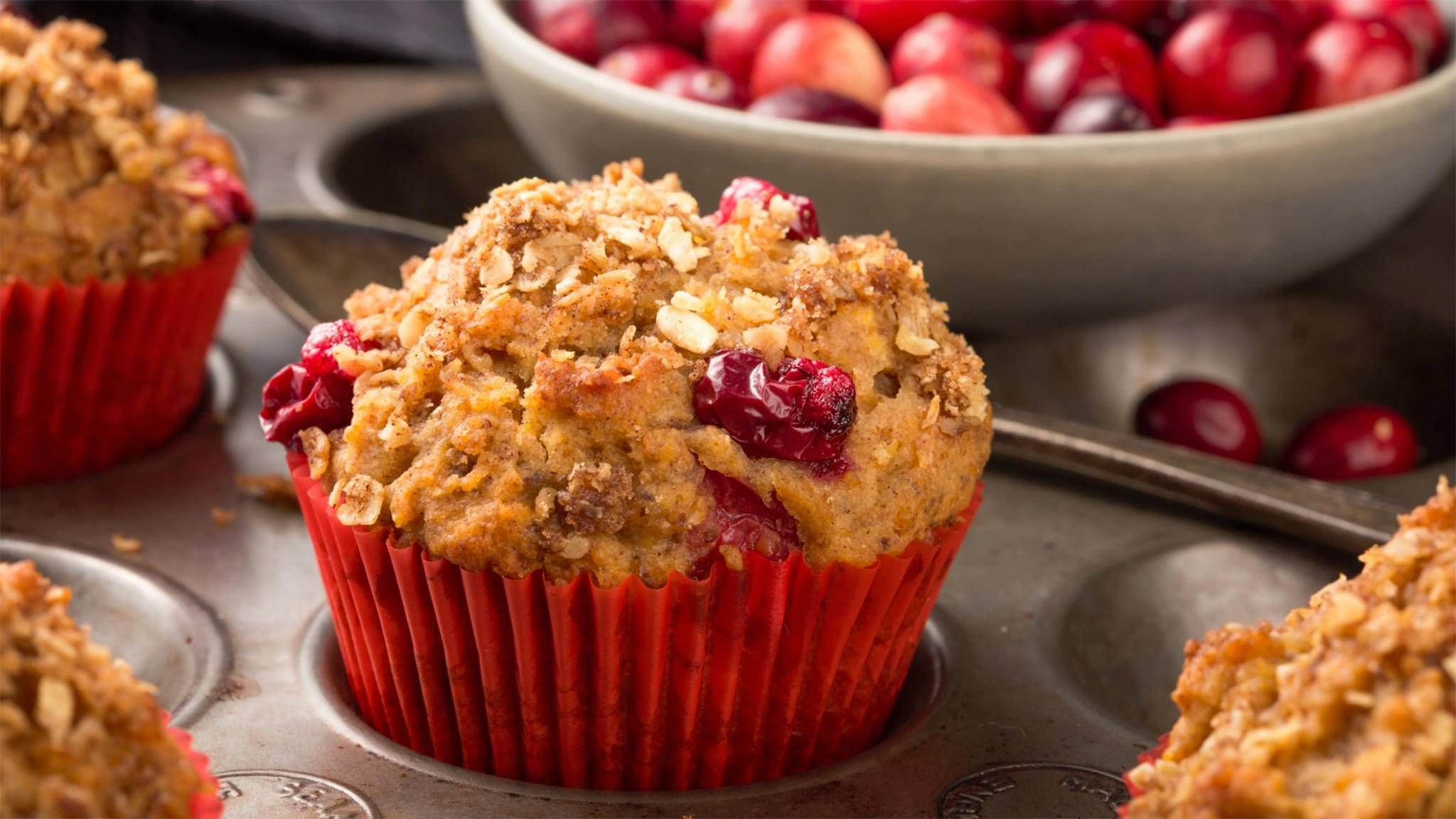 Selbst gebackene Muffins schmecken am besten.