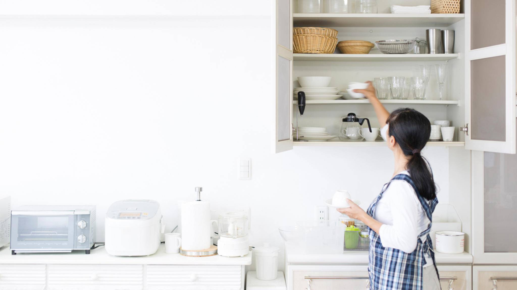 Eine ordentlich sortierte Küche erhöht die Lebensqualität.