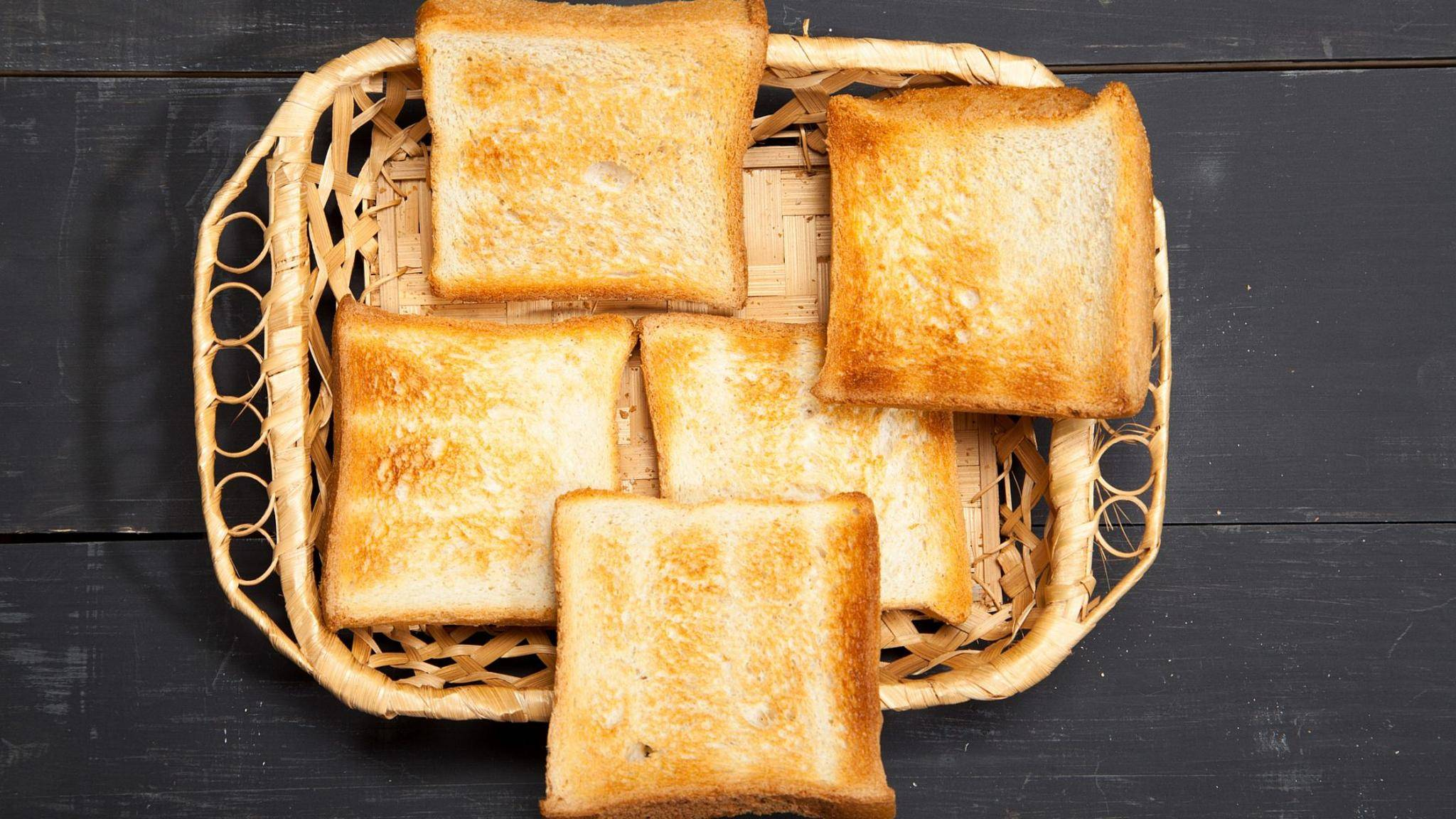 Nach Ansicht der FSA sollte Toast lieber goldfarben denn braun sein.